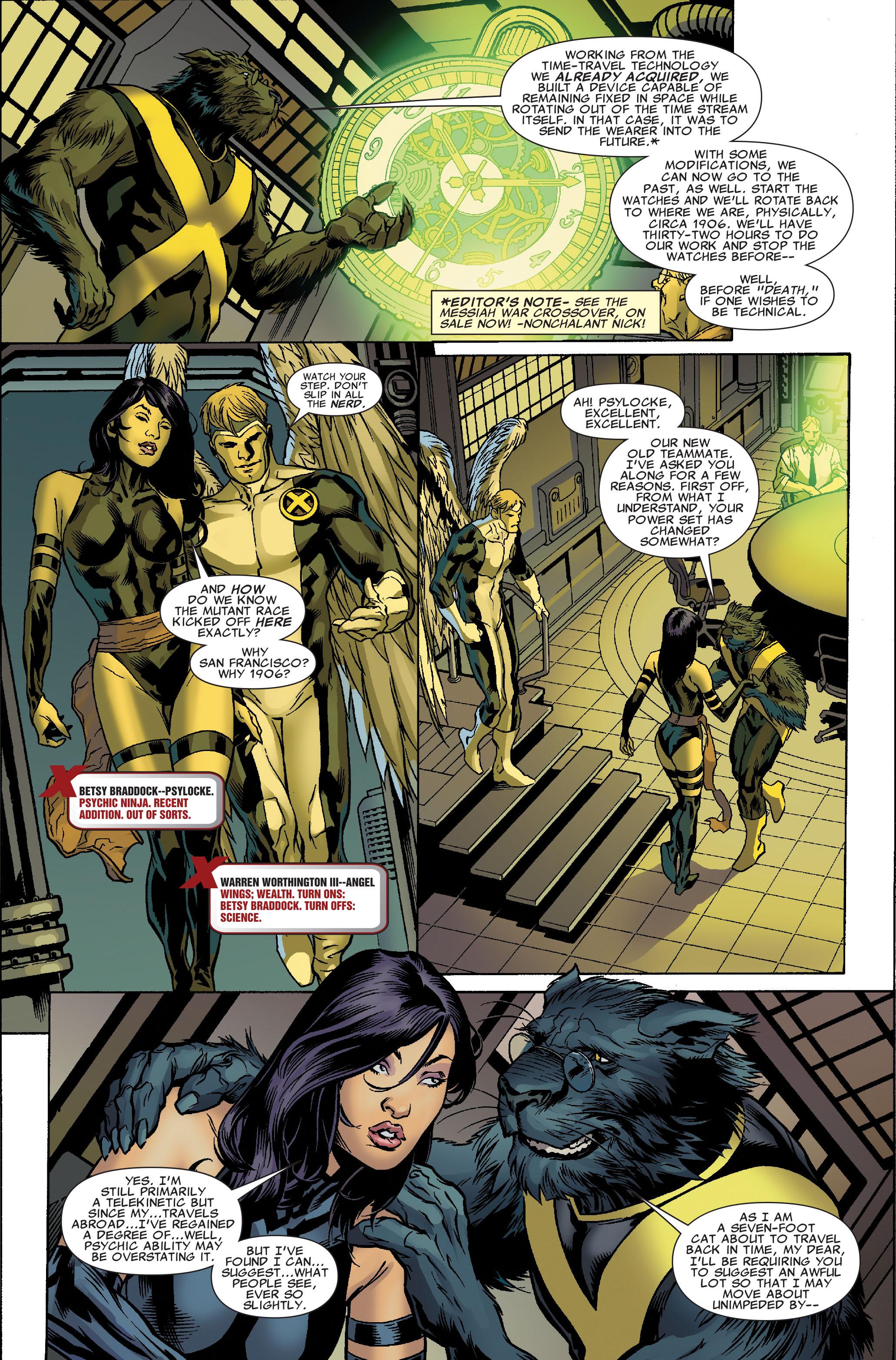 Read online Uncanny X-Men (1963) comic -  Issue #512 - 4