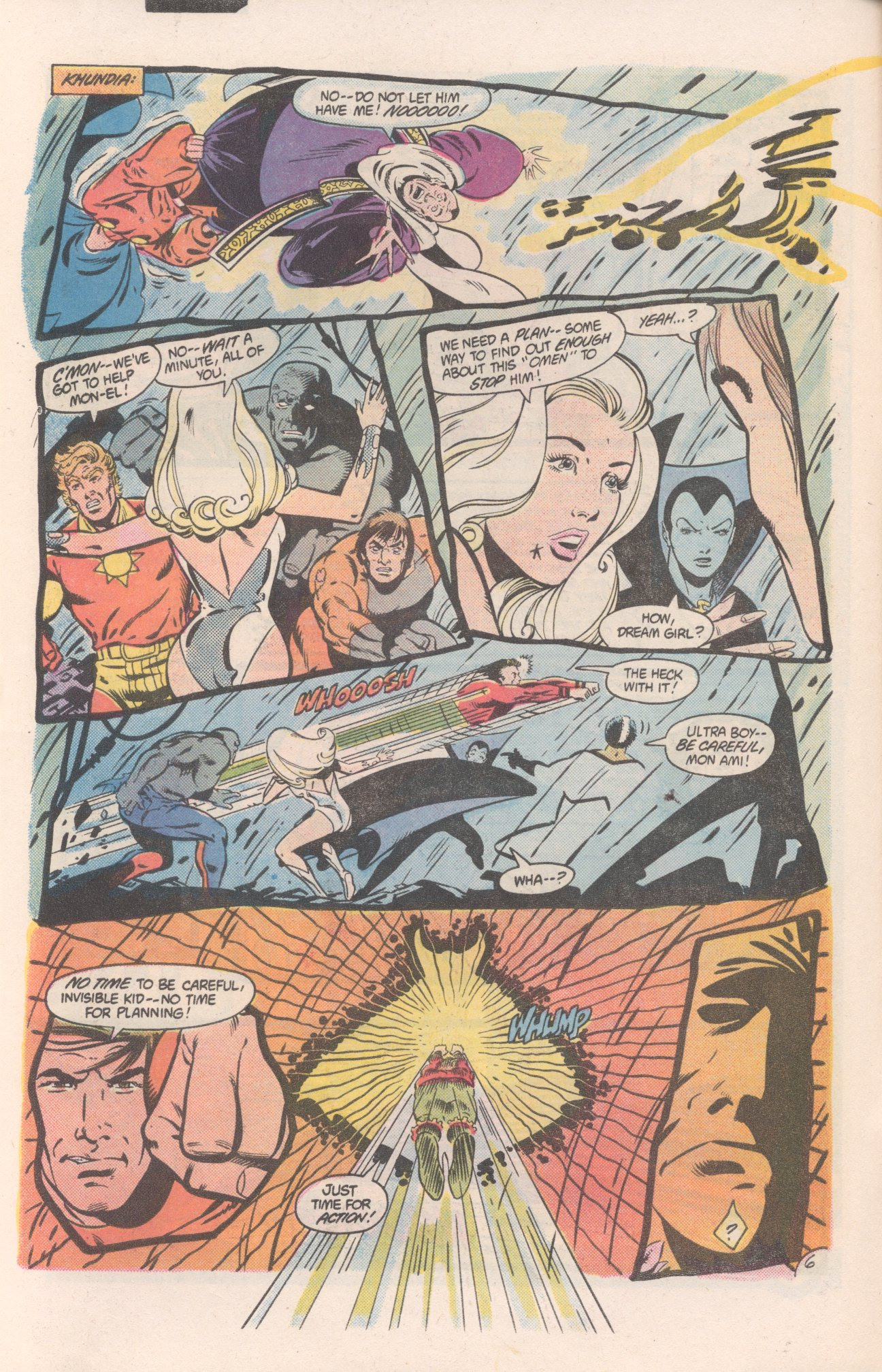 Legion of Super-Heroes (1980) 310 Page 6