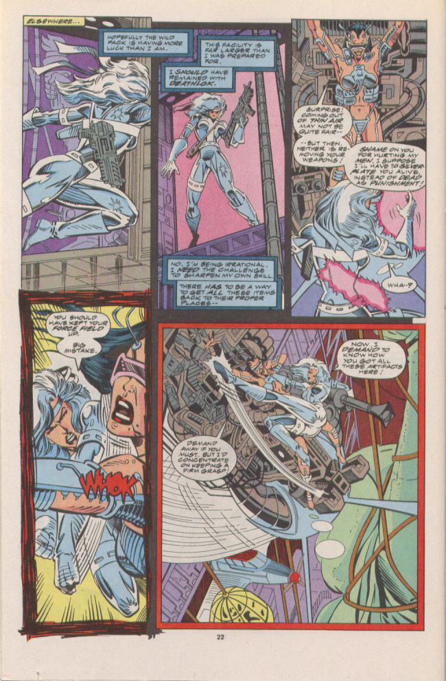 Read online Silver Sable and the Wild Pack comic -  Issue #7 - 17