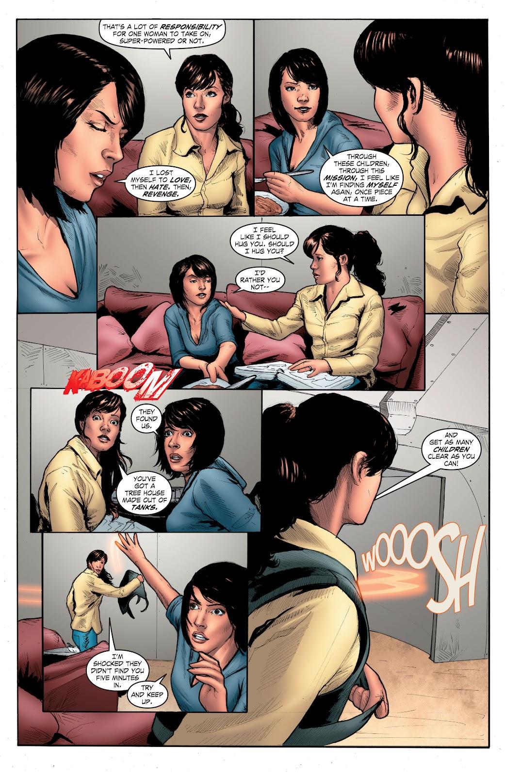 Read online Smallville Season 11 [II] comic -  Issue # TPB 4 - 125