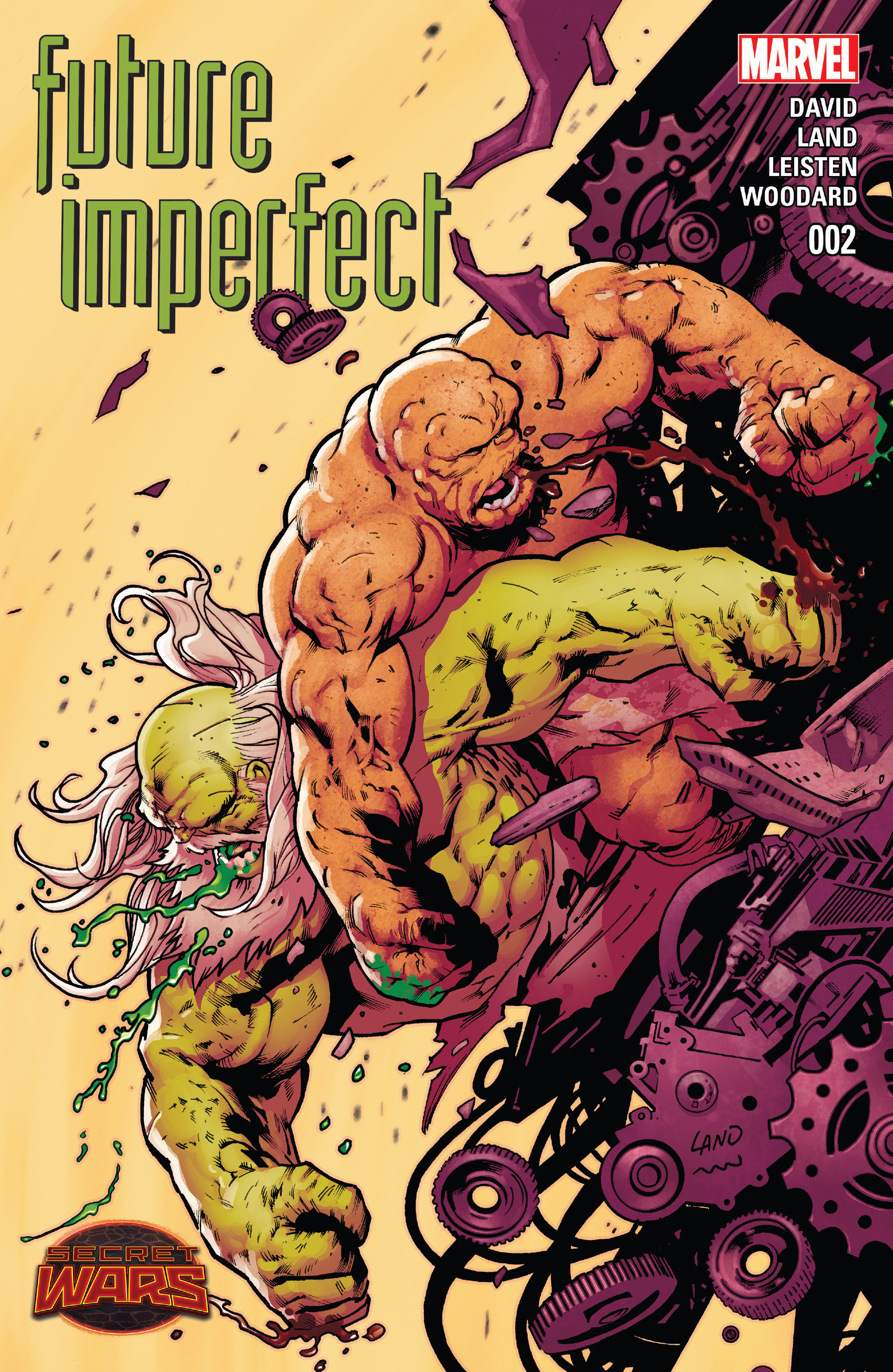 Read online Future Imperfect comic -  Issue #2 - 1