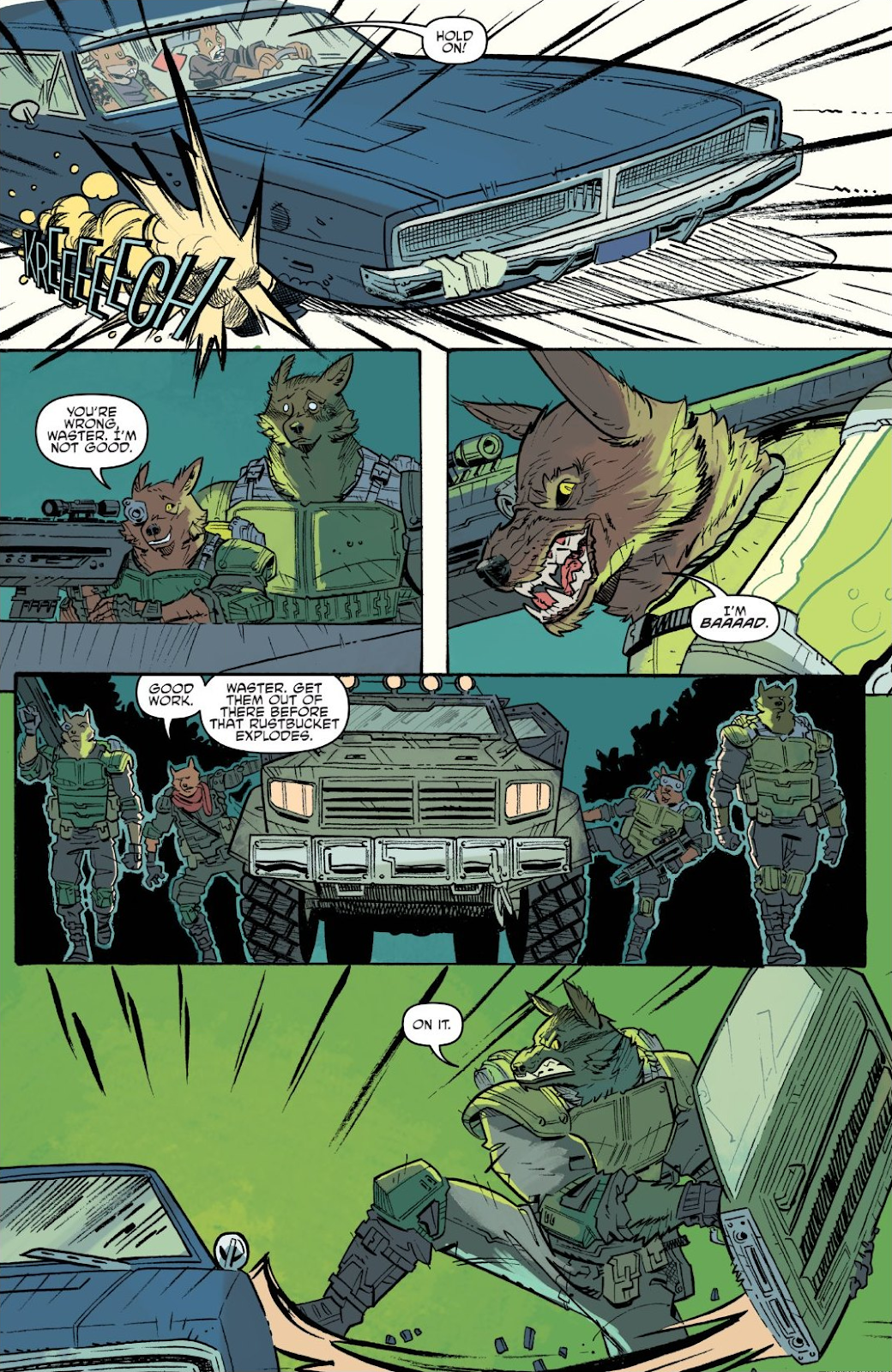 Read online Teenage Mutant Ninja Turtles: The IDW Collection comic -  Issue # TPB 9 (Part 3) - 35