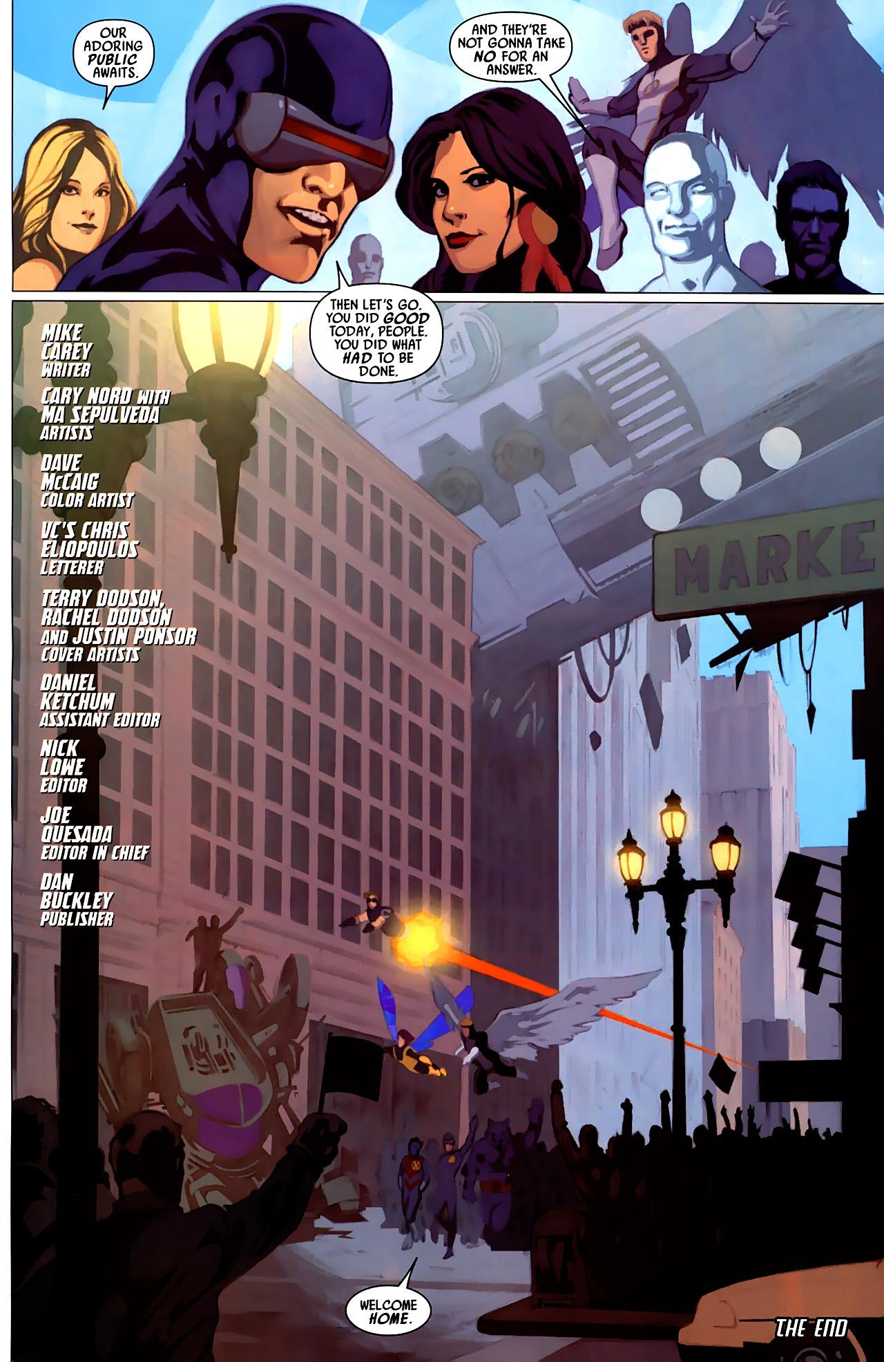 Read online Secret Invasion: X-Men comic -  Issue #4 - 25