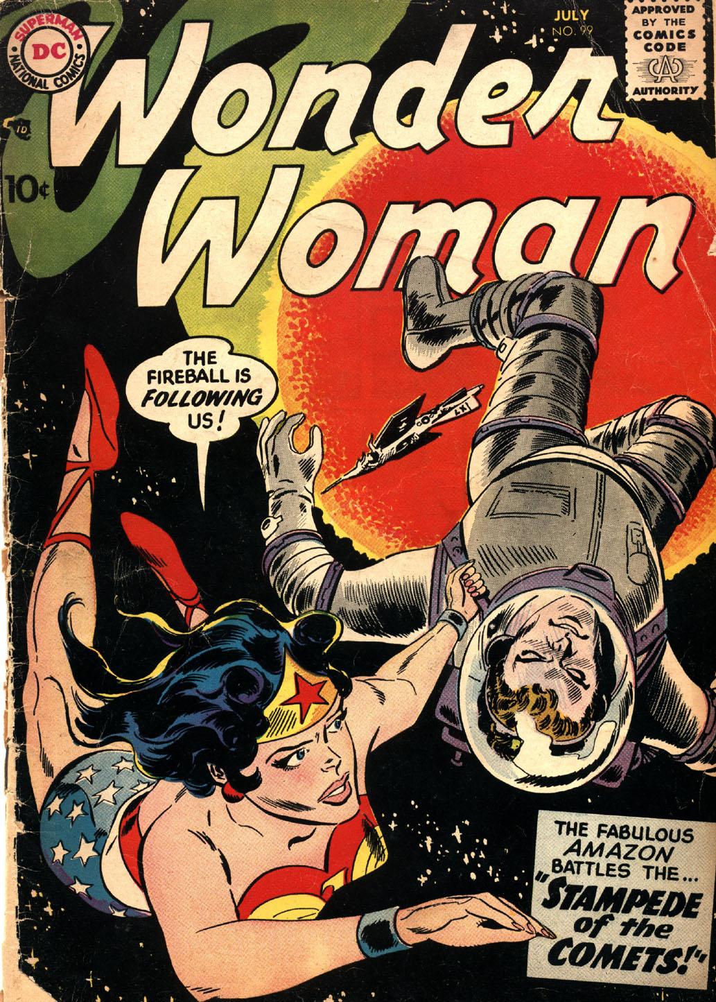 Read online Wonder Woman (1942) comic -  Issue #99 - 1