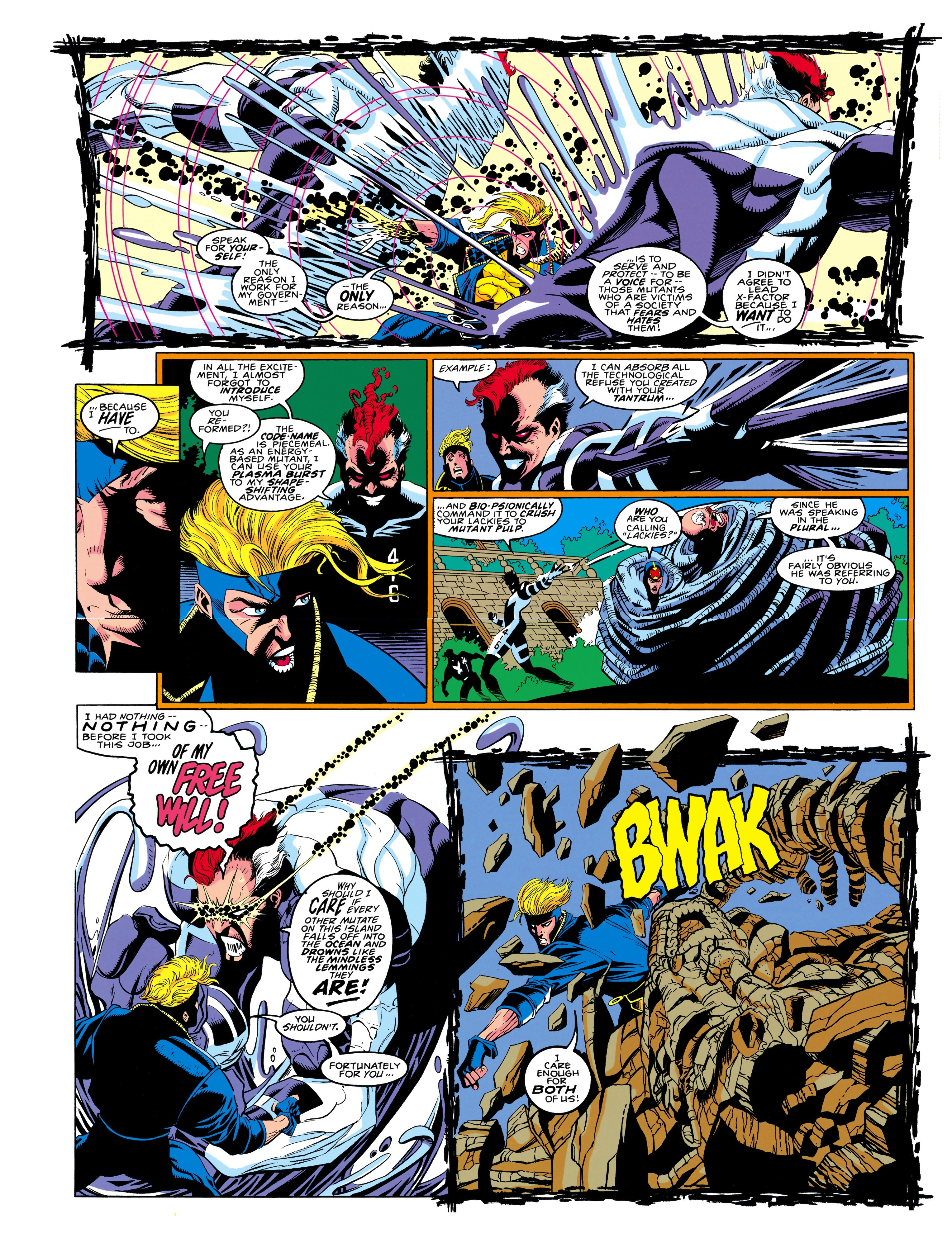 Read online X-Factor (1986) comic -  Issue #90 - 10