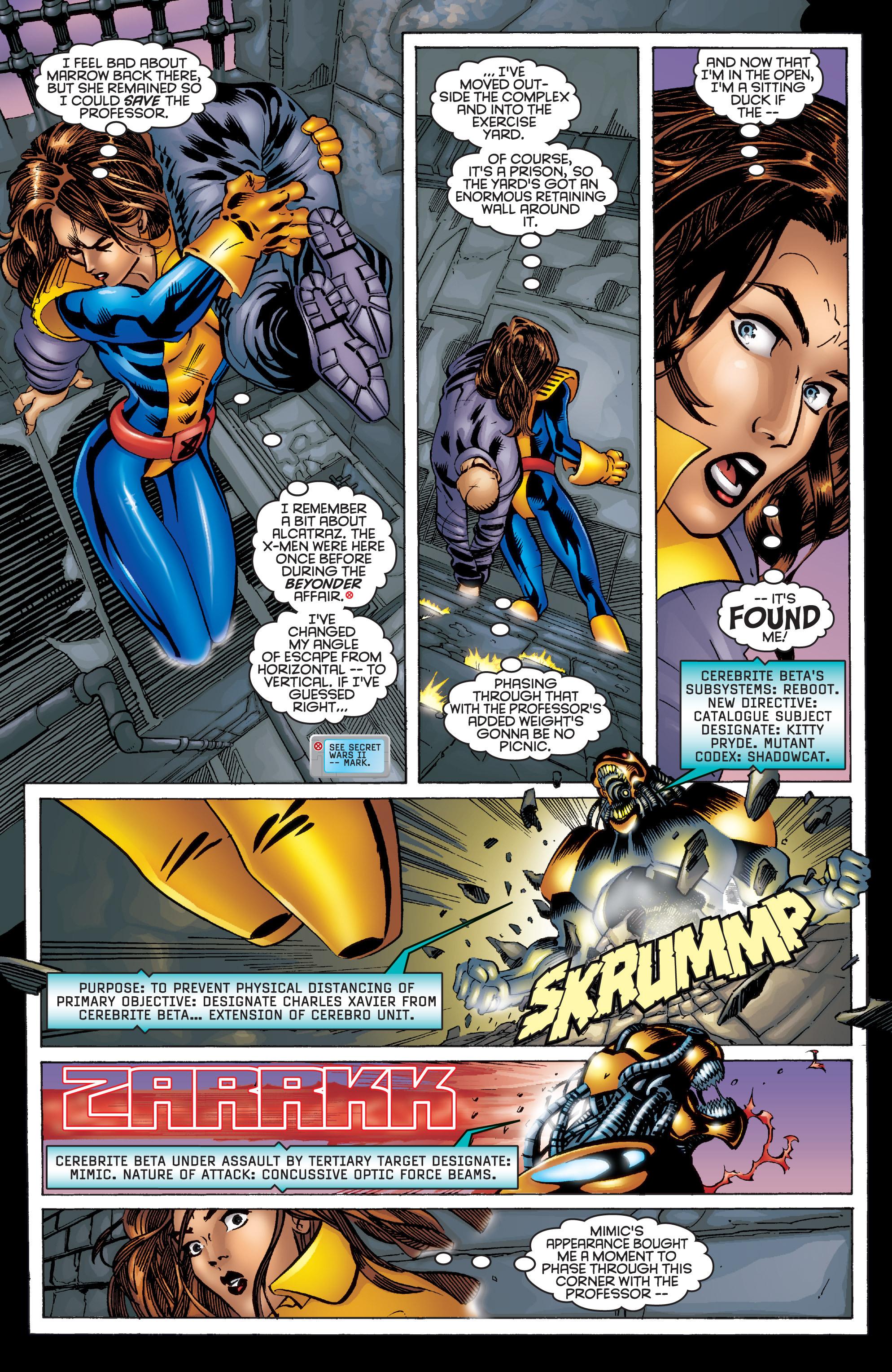 Read online Uncanny X-Men (1963) comic -  Issue #364 - 19