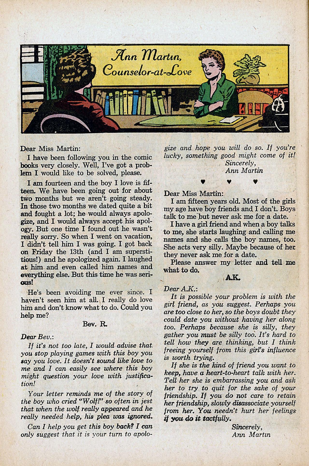 Read online Secret Hearts comic -  Issue #86 - 26
