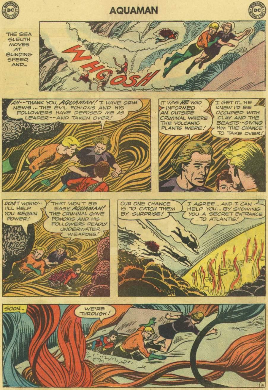 Read online Aquaman (1962) comic -  Issue #7 - 27