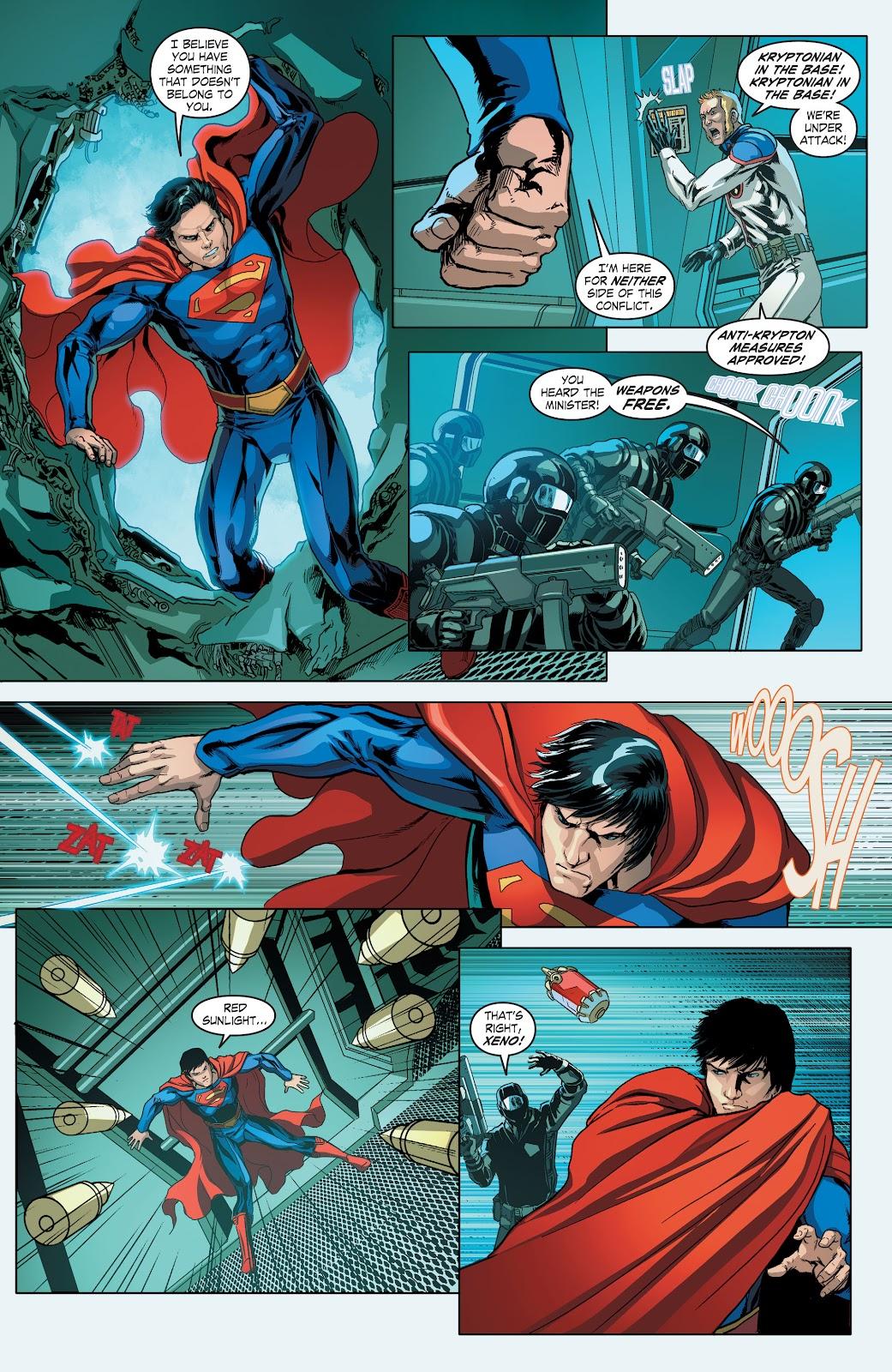 Read online Smallville Season 11 [II] comic -  Issue # TPB 4 - 34