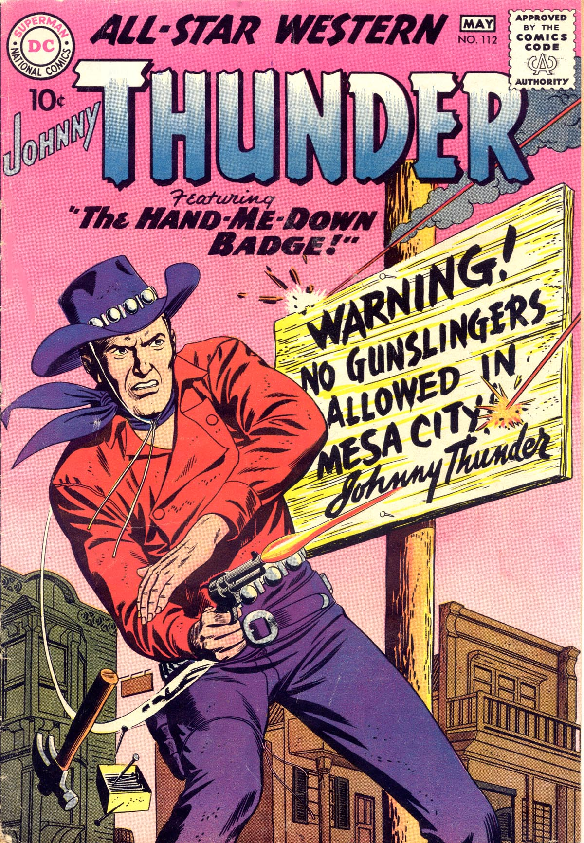 Read online All-Star Western (1951) comic -  Issue #112 - 1