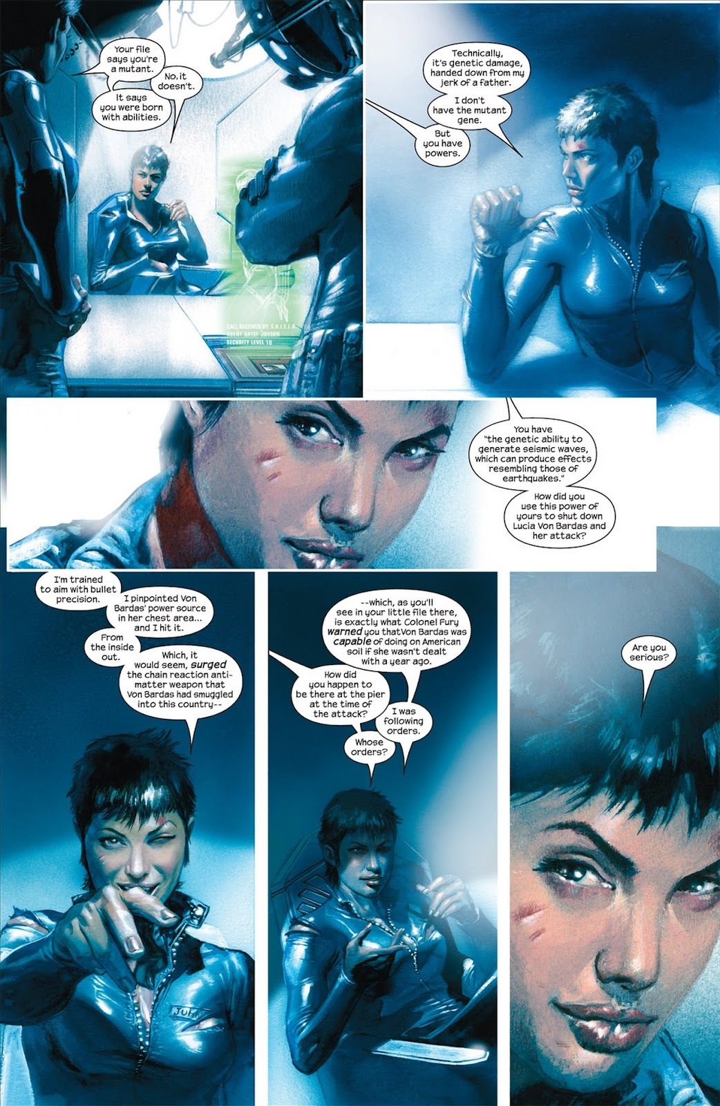 Read online Secret War comic -  Issue #5 - 12
