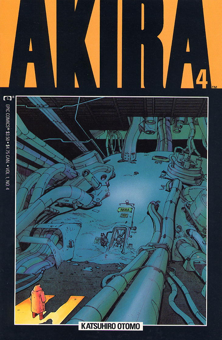 Read online Akira comic -  Issue #4 - 1