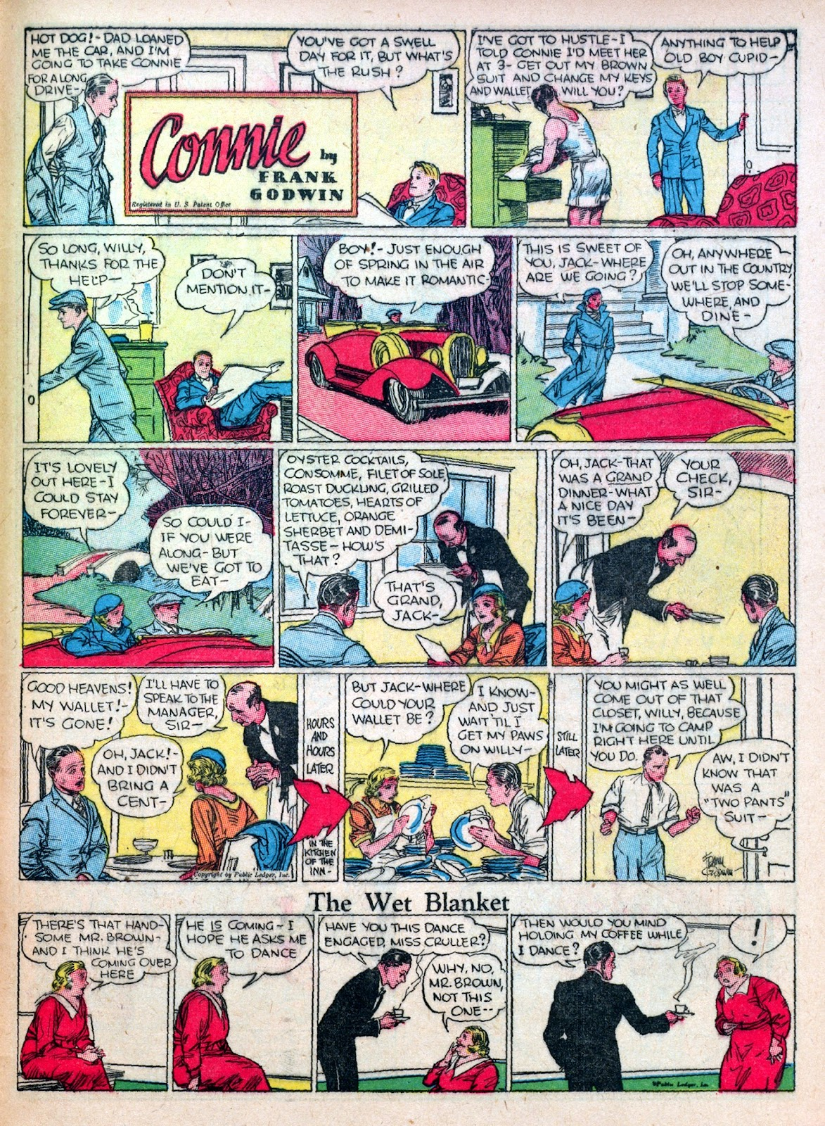 Read online Famous Funnies comic -  Issue #45 - 57