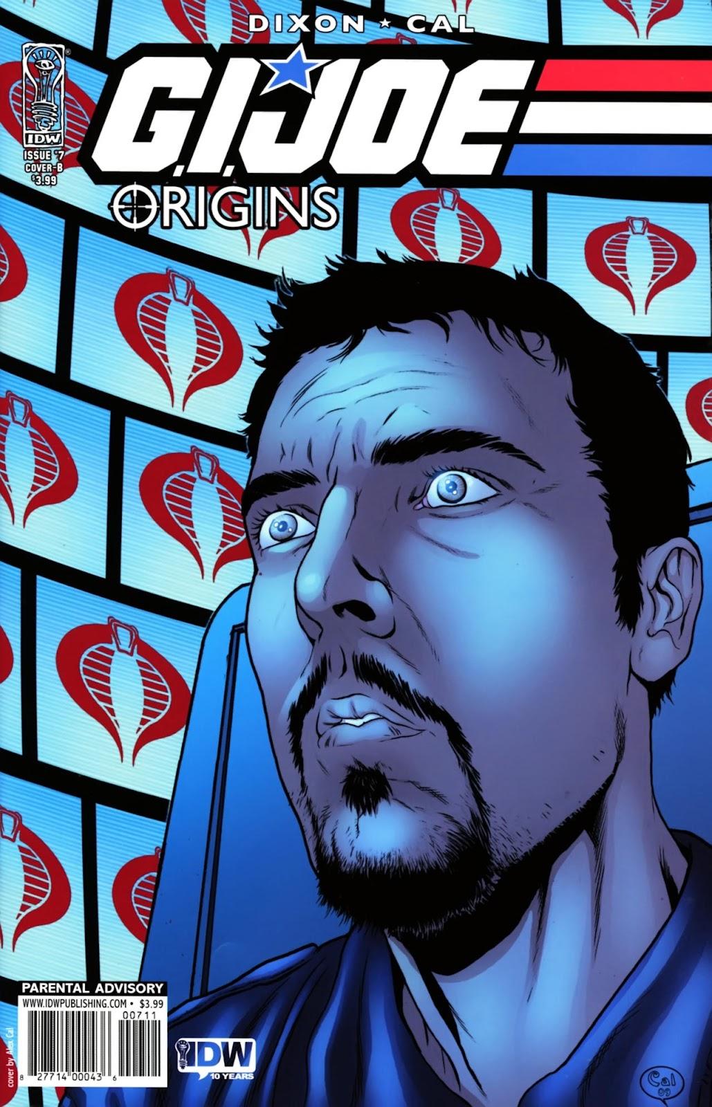 G.I. Joe: Origins issue 7 - Page 1