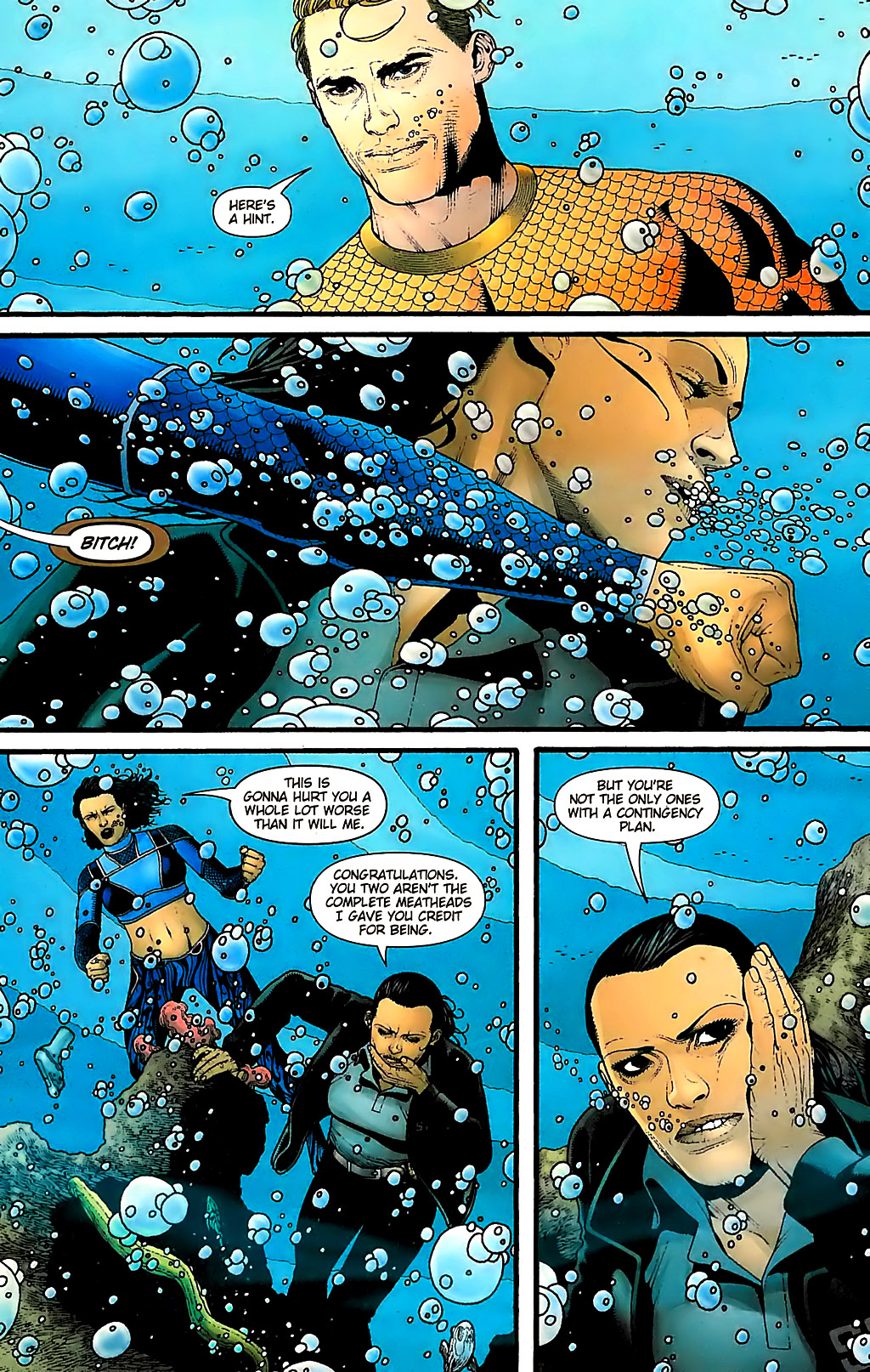 Read online Aquaman (2003) comic -  Issue #31 - 16