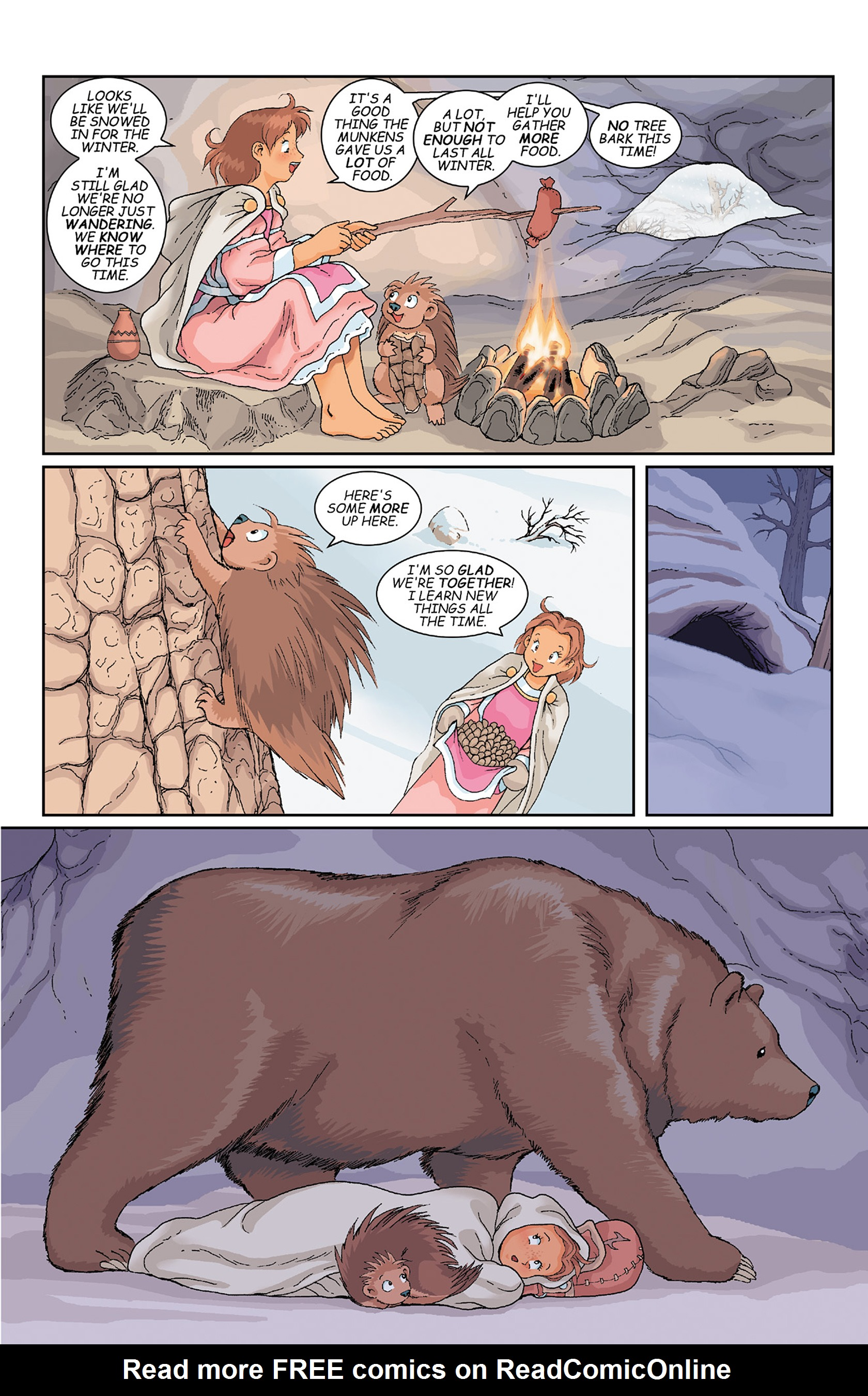 Read online Courageous Princess comic -  Issue # TPB 1 - 140