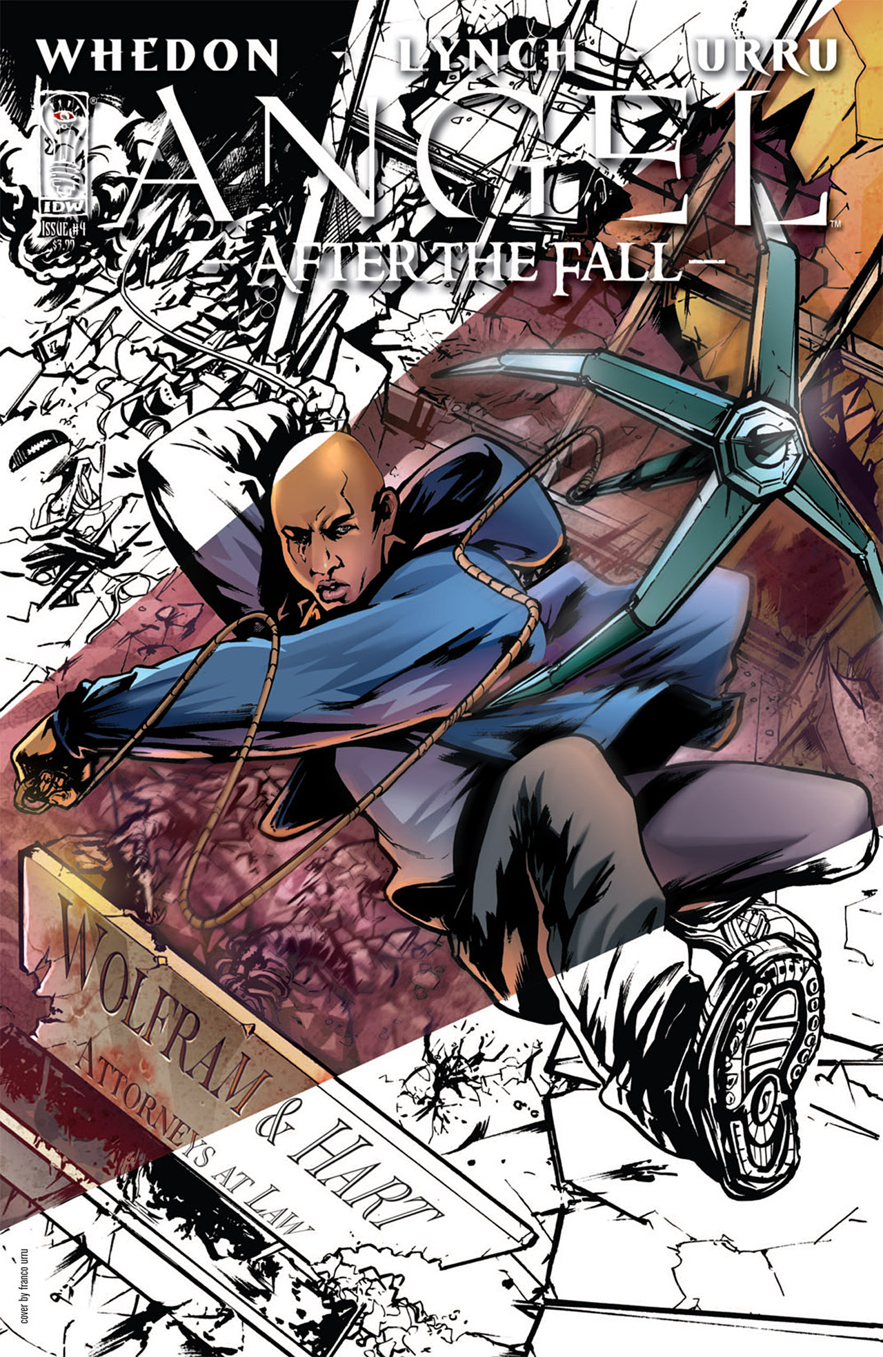 Read online Angel: After The Fall comic -  Issue #4 - 1
