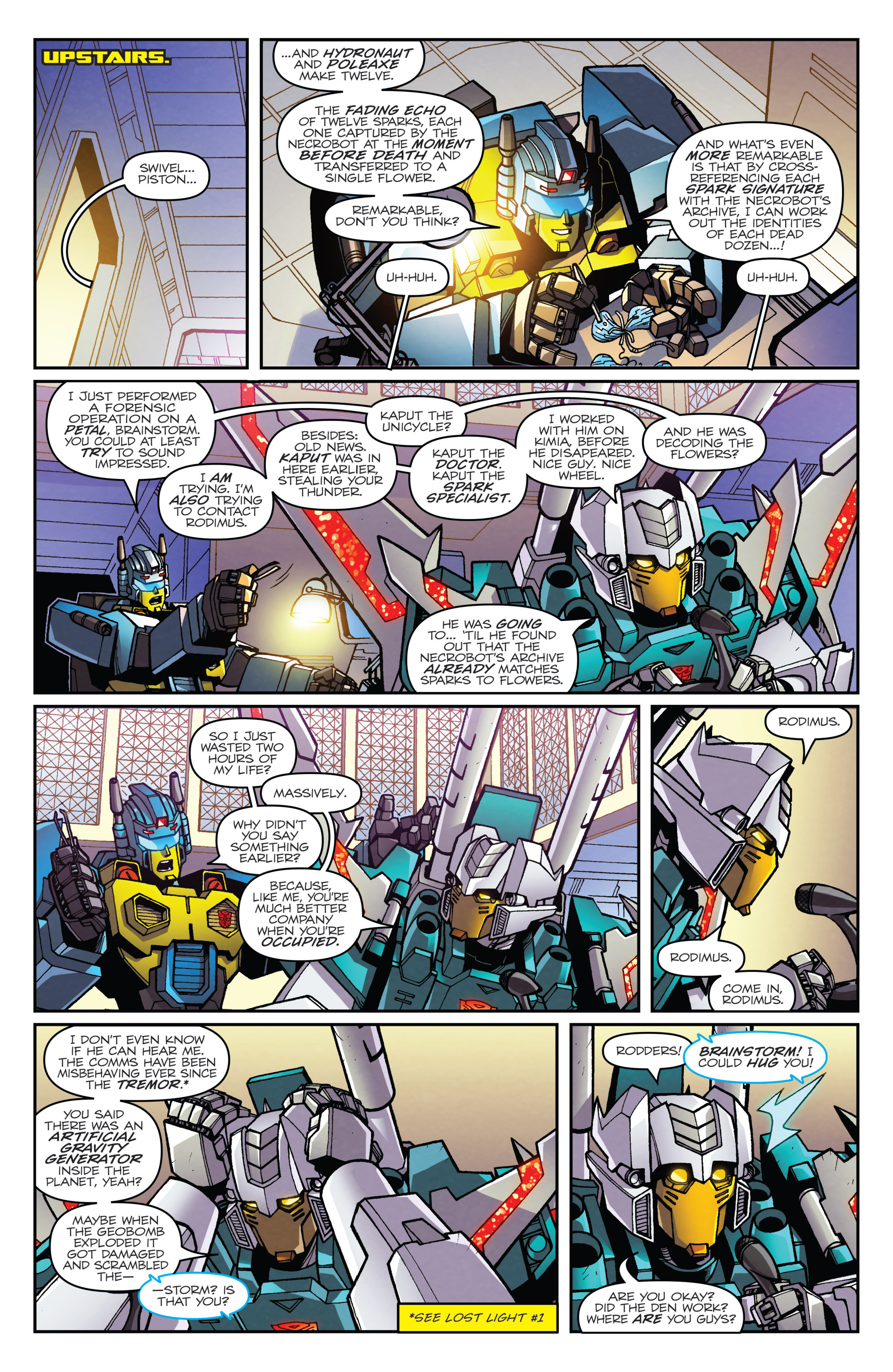 Read online Transformers: Lost Light comic -  Issue #3 - 4