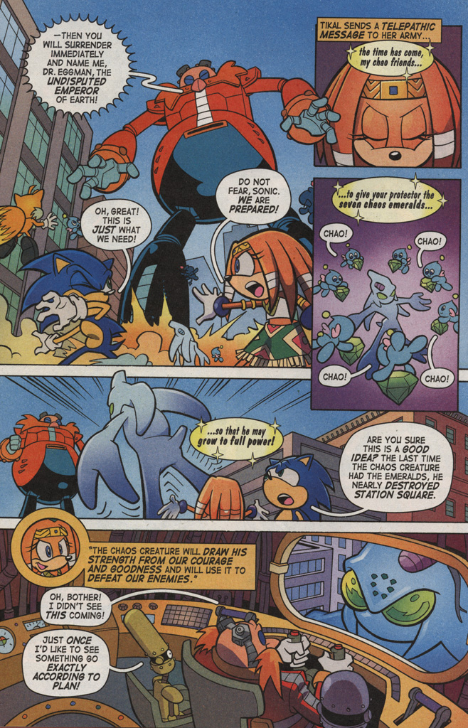 Read online Sonic X comic -  Issue #6 - 24