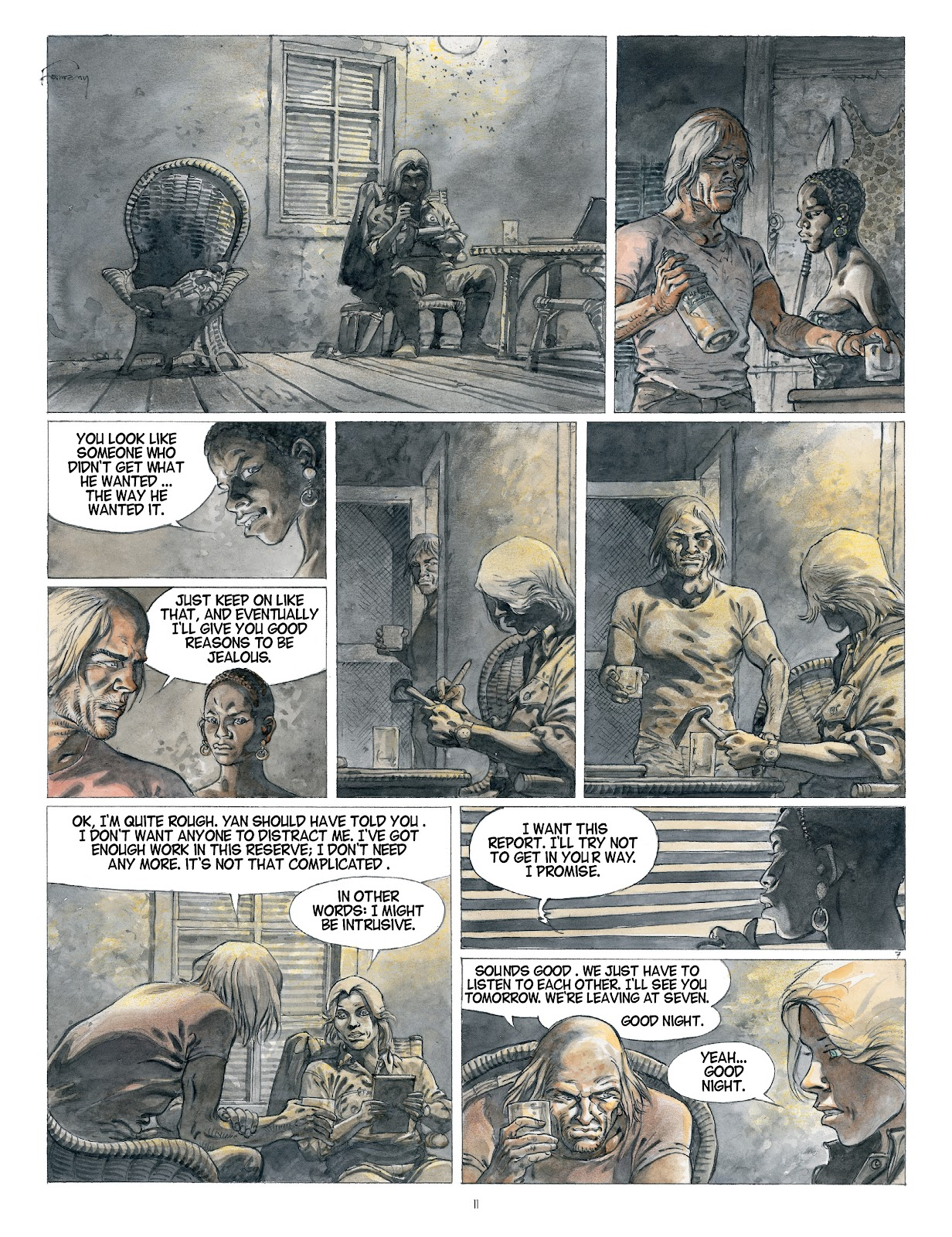 Read online Afrika comic -  Issue # TPB - 11