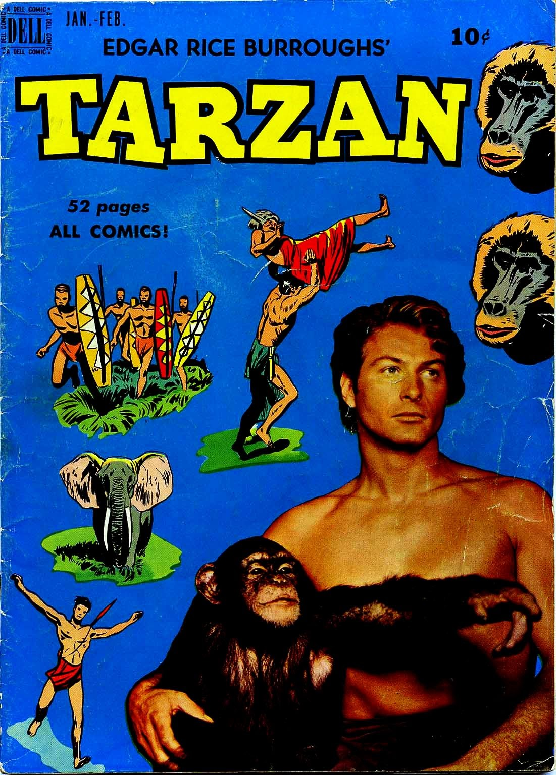 Tarzan (1948) issue 13 - Page 1
