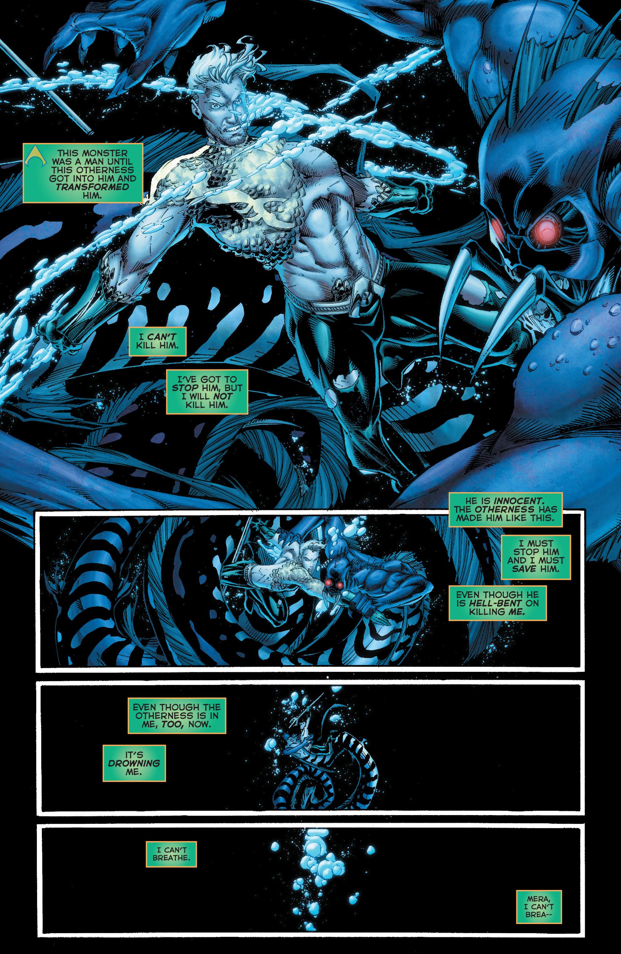 Read online Aquaman (2011) comic -  Issue #50 - 34