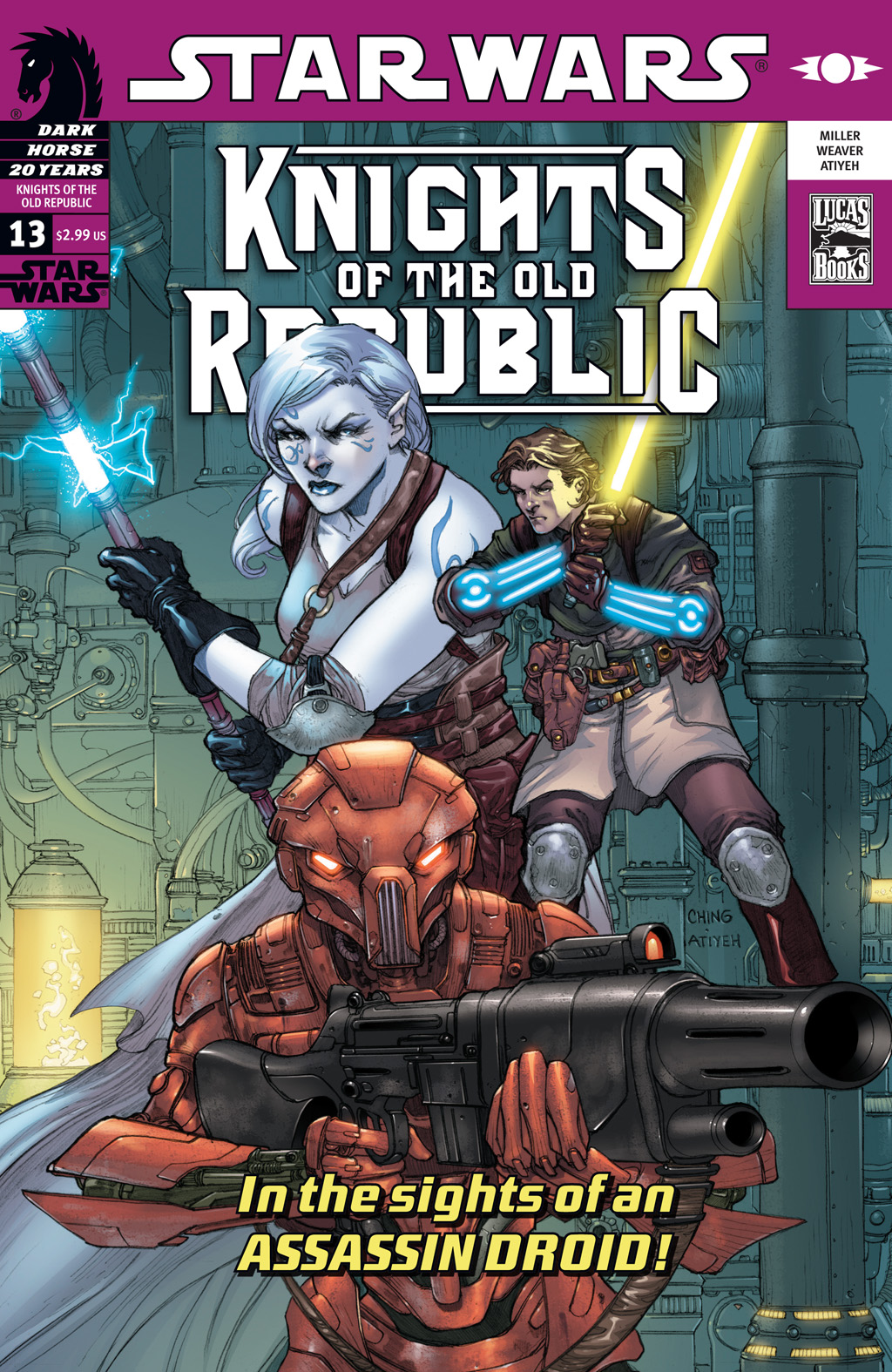 Star Wars: Knights Of The Old Republic issue 13 - Page 1