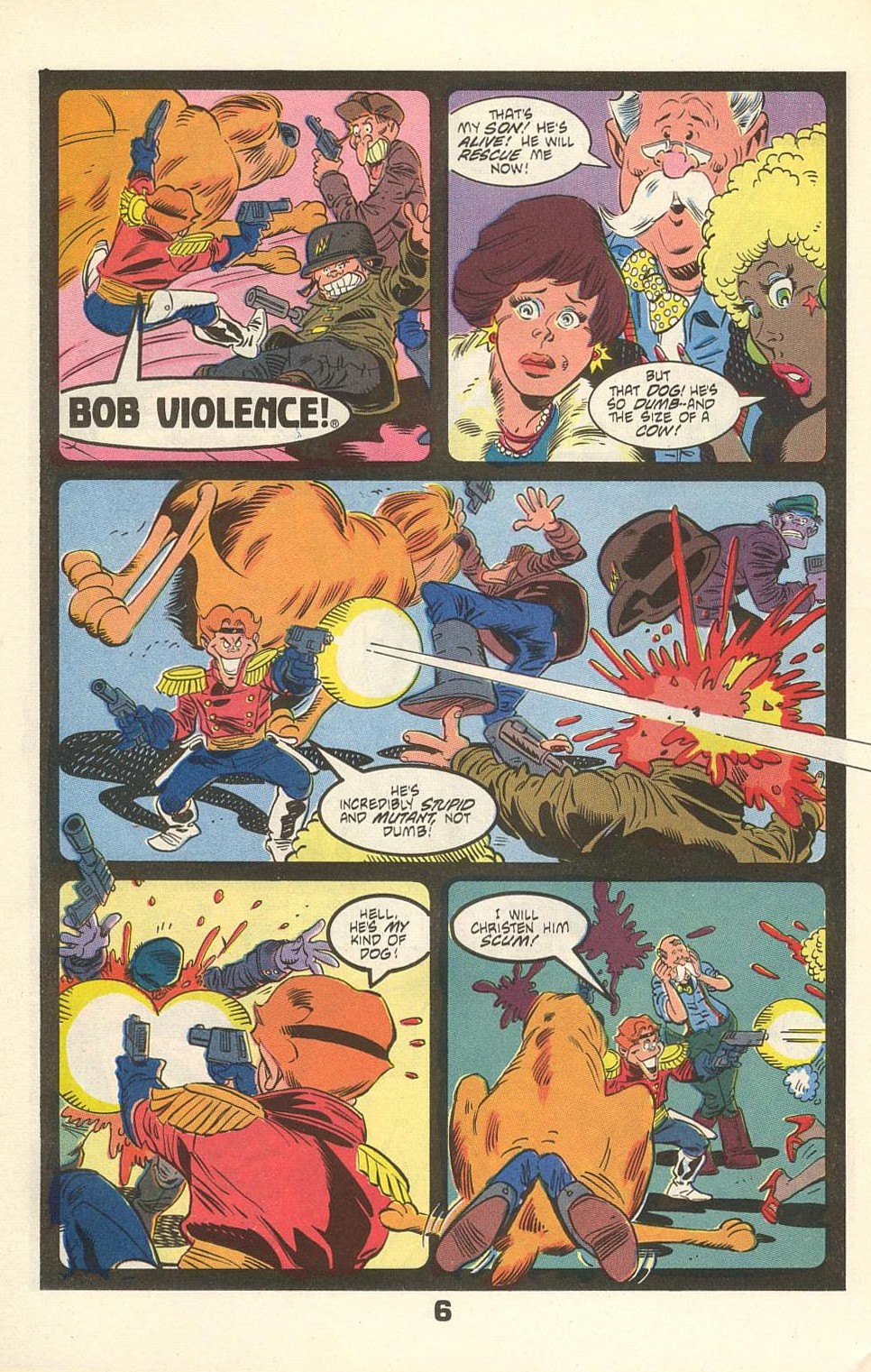 Read online American Flagg! comic -  Issue #31 - 32