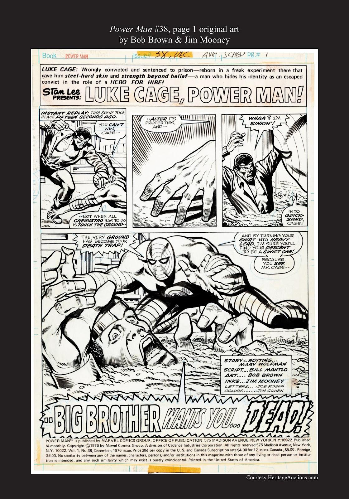 Read online Marvel Masterworks: Luke Cage, Power Man comic -  Issue # TPB 3 (Part 3) - 120