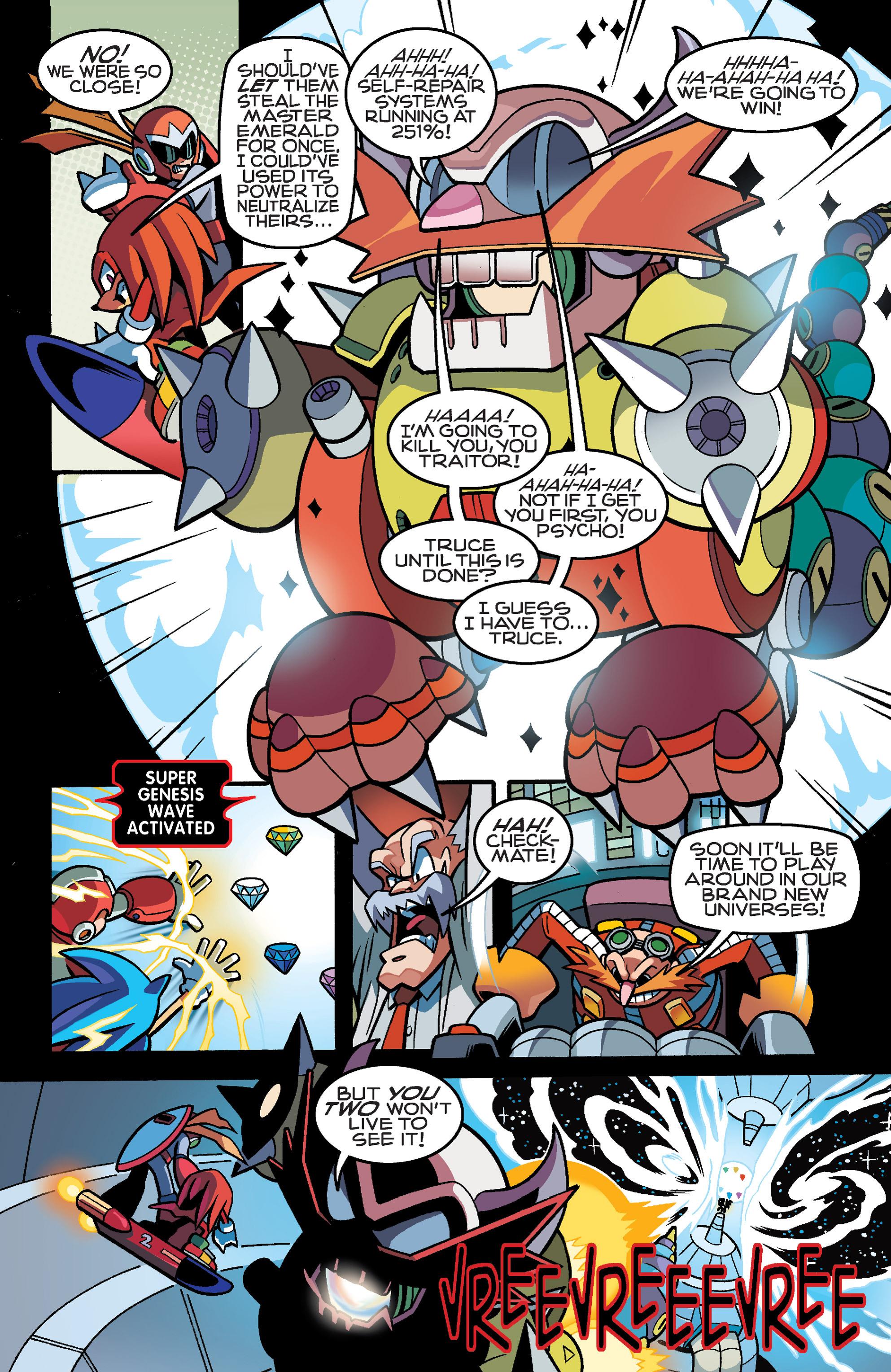 Read online Sonic Mega Man Worlds Collide comic -  Issue # Vol 3 - 107