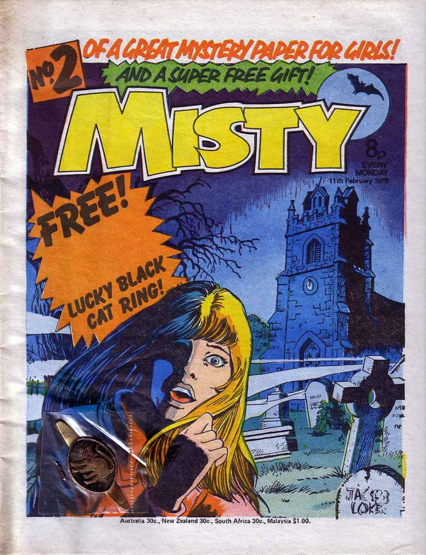Read online Misty comic -  Issue #2 - 1