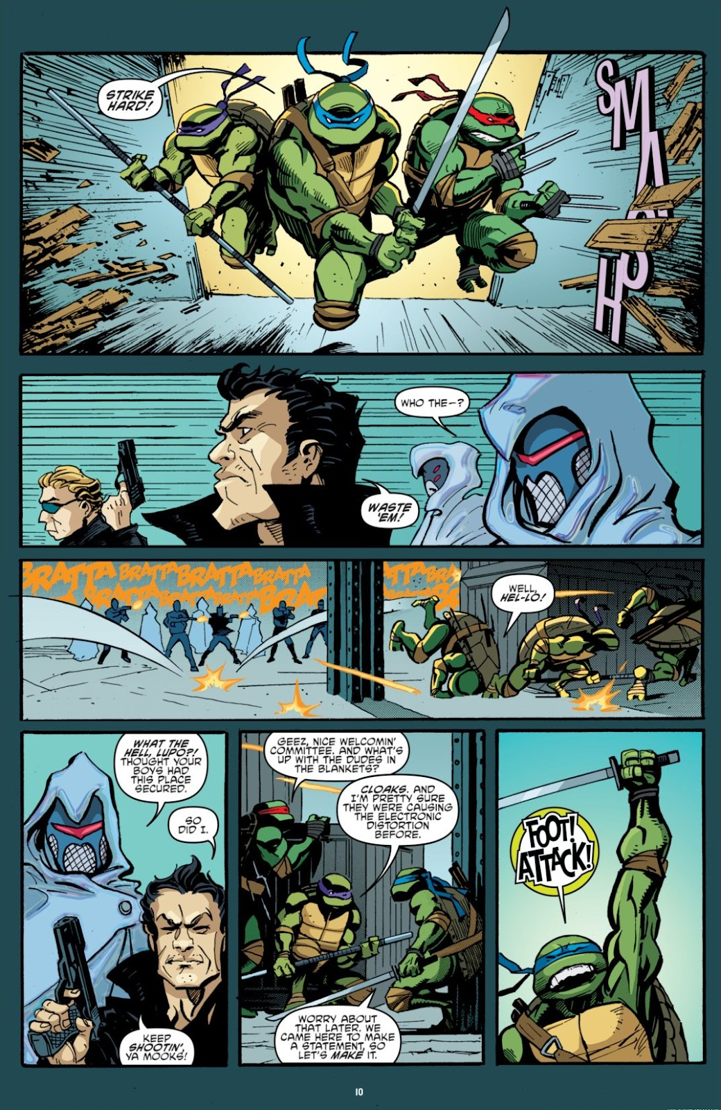 Read online Teenage Mutant Ninja Turtles: The IDW Collection comic -  Issue # TPB 7 (Part 1) - 10