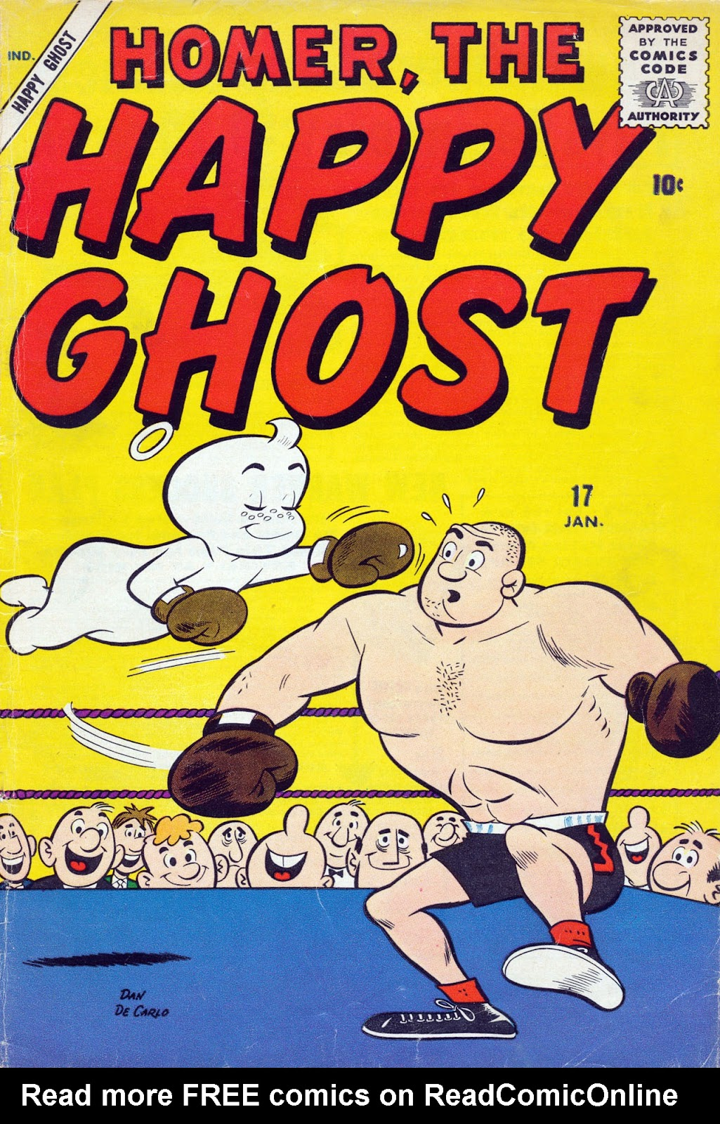 Homer, the Happy Ghost issue 17 - Page 1