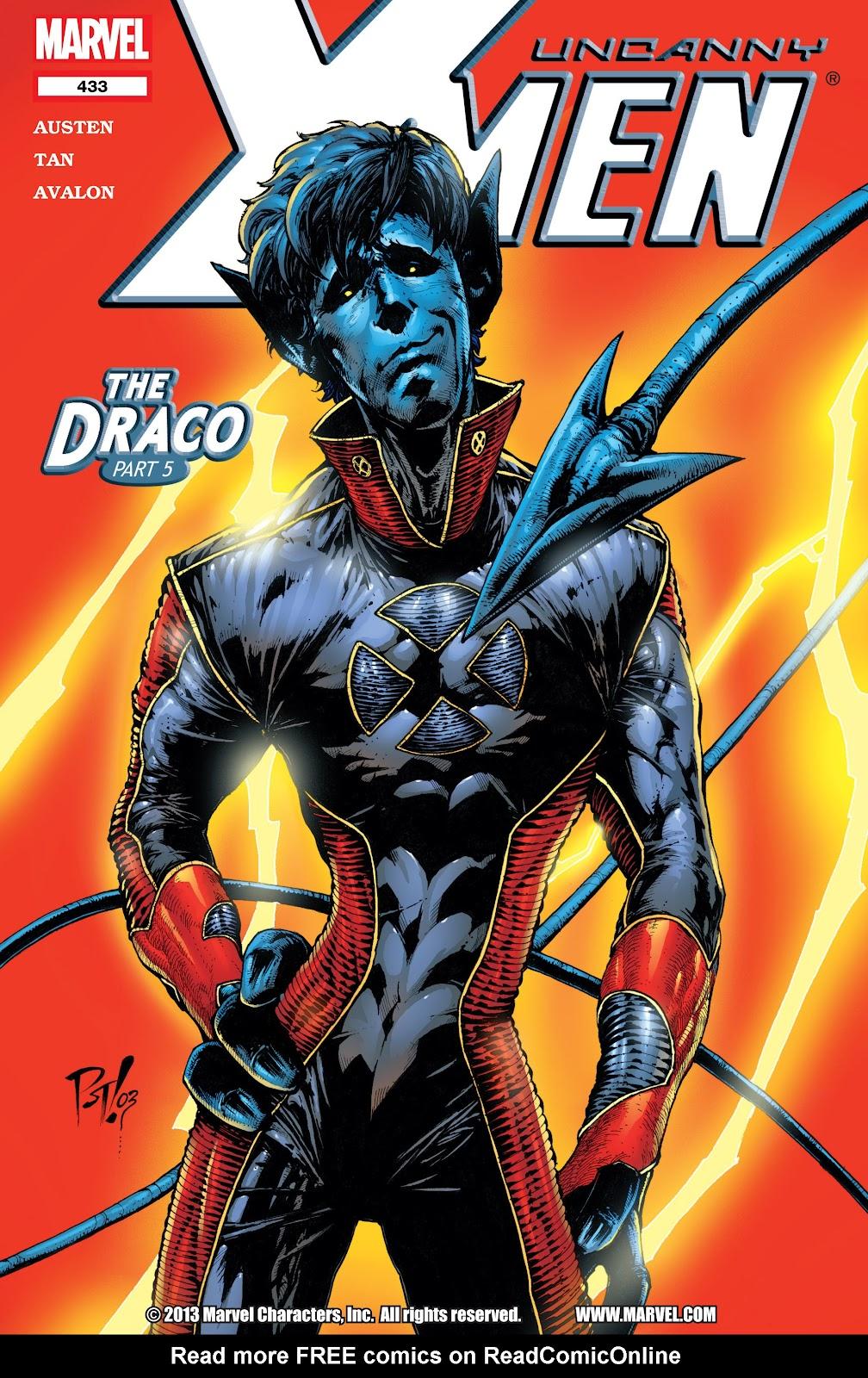 Uncanny X-Men (1963) 433 Page 1