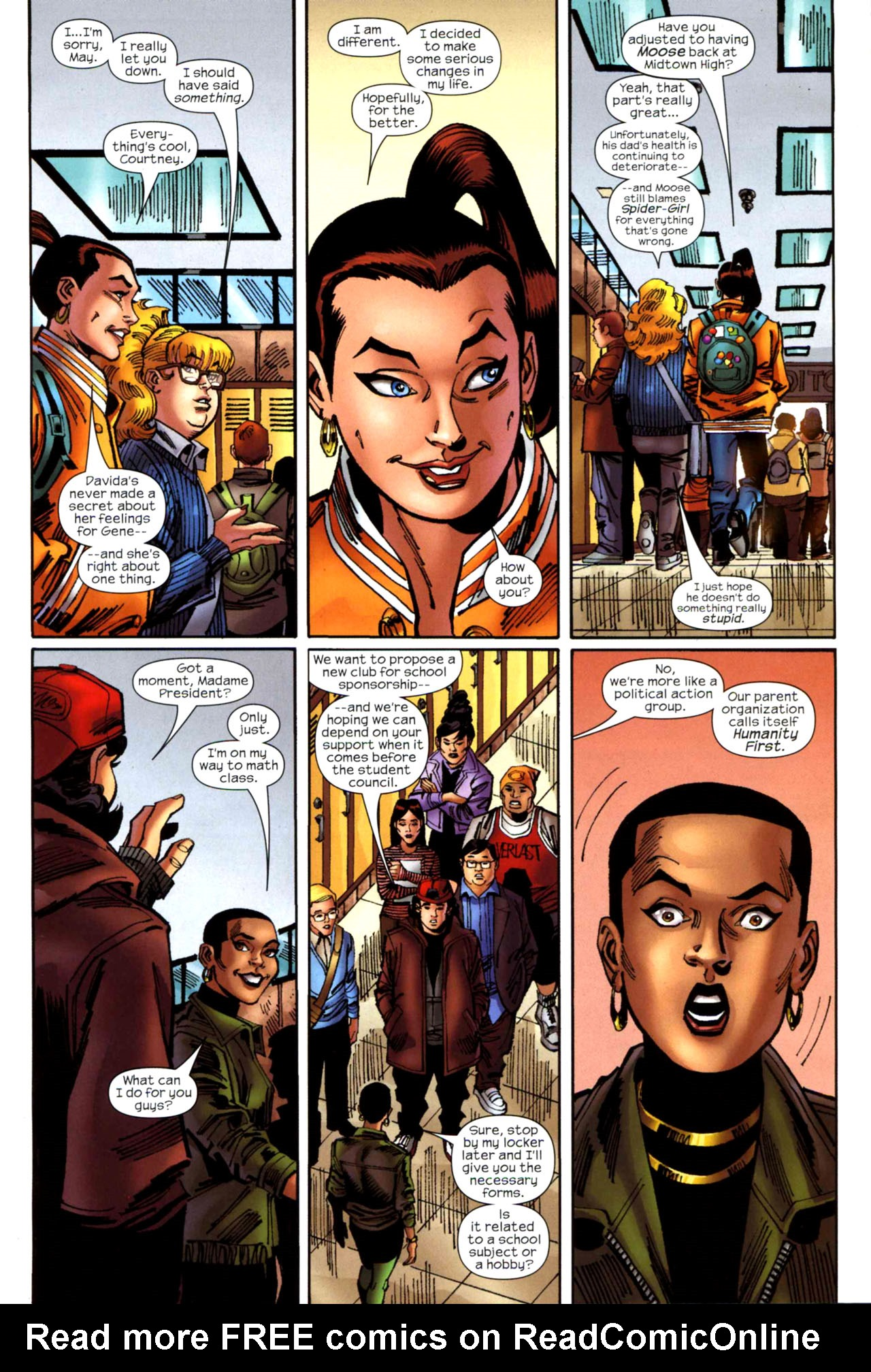 Read online Amazing Spider-Girl comic -  Issue #20 - 7