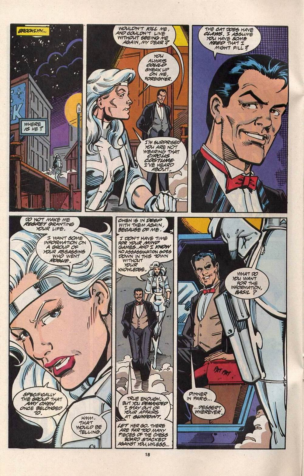 Read online Silver Sable and the Wild Pack comic -  Issue #28 - 15