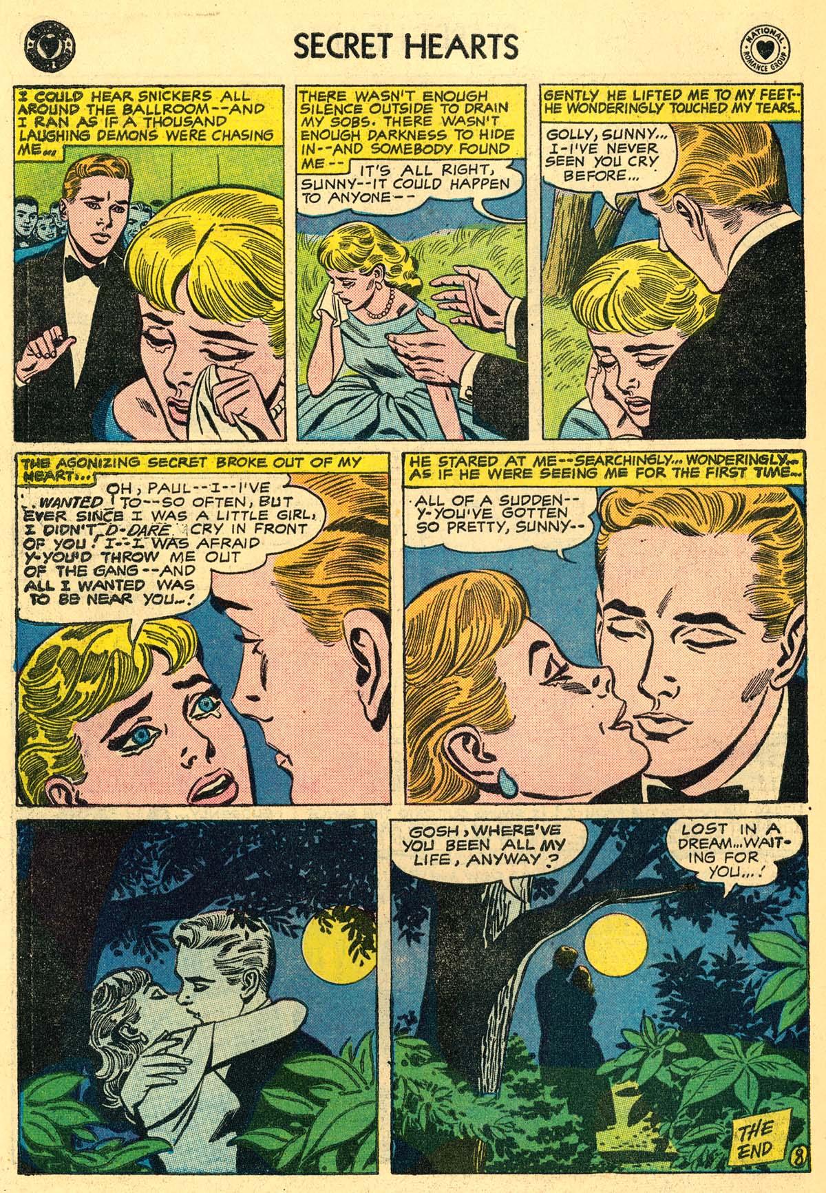 Read online Secret Hearts comic -  Issue #43 - 34