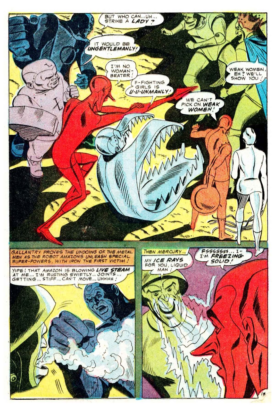 Metal Men (1963) issue 32 - Page 17