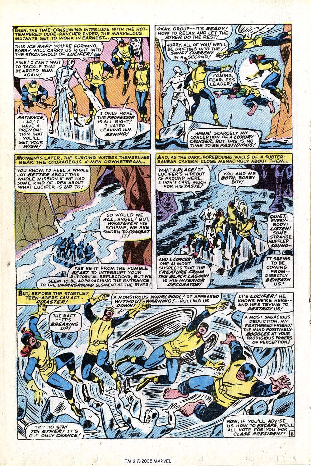 Read online Uncanny X-Men (1963) comic -  Issue #72 - 8