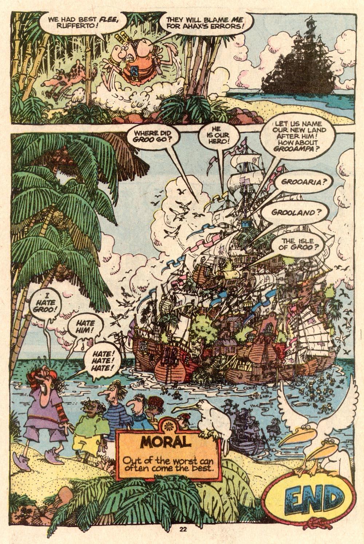 Read online Sergio Aragonés Groo the Wanderer comic -  Issue #57 - 23