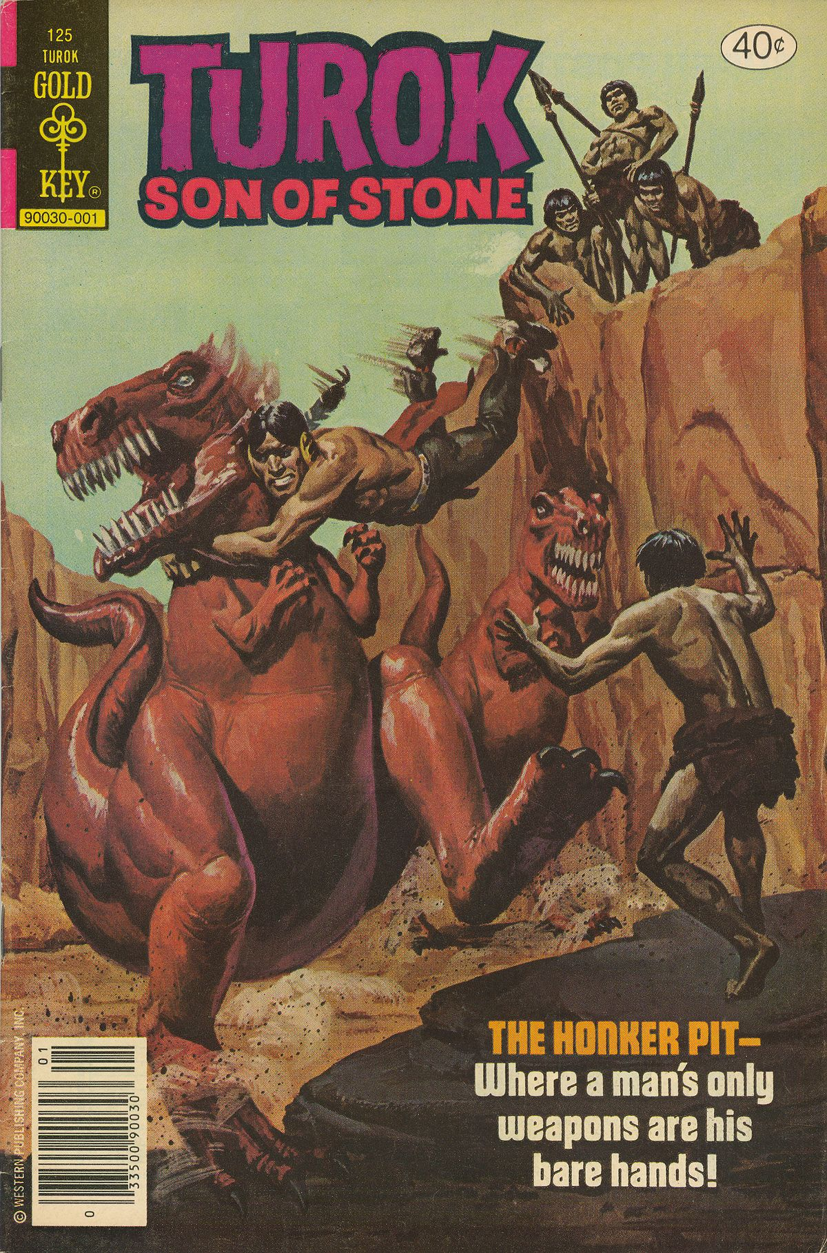 Read online Turok, Son of Stone comic -  Issue #125 - 1