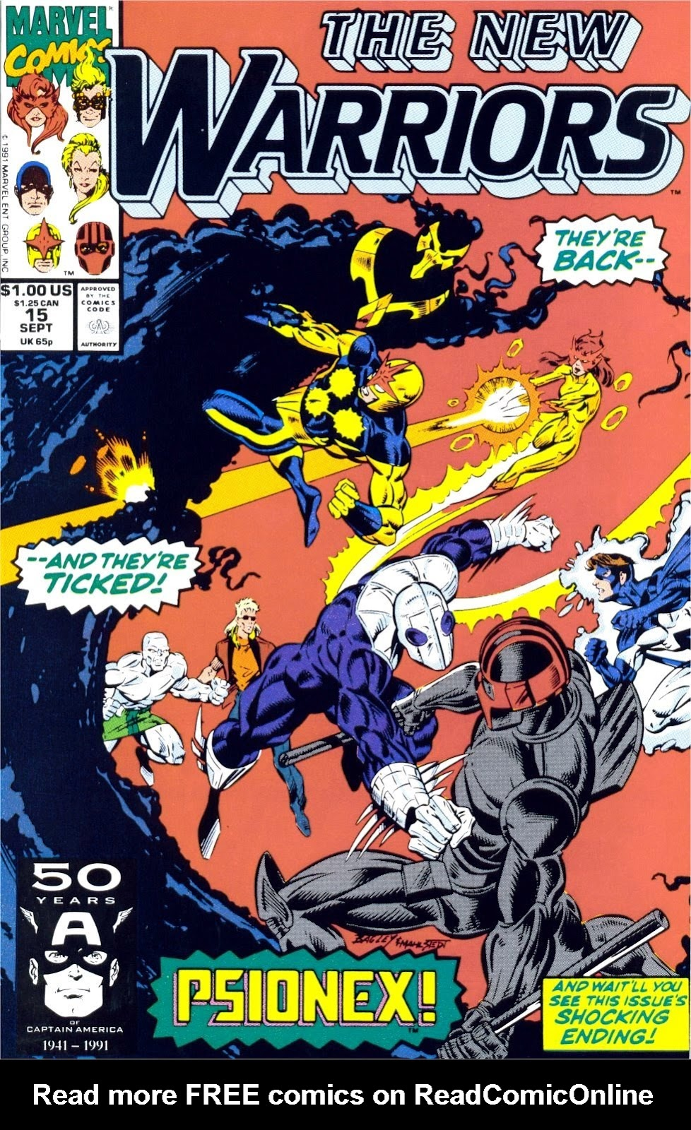 The New Warriors Issue #15 #19 - English 1