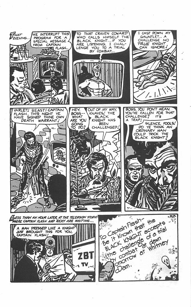 Read online Golden-Age Men of Mystery comic -  Issue #4 - 7