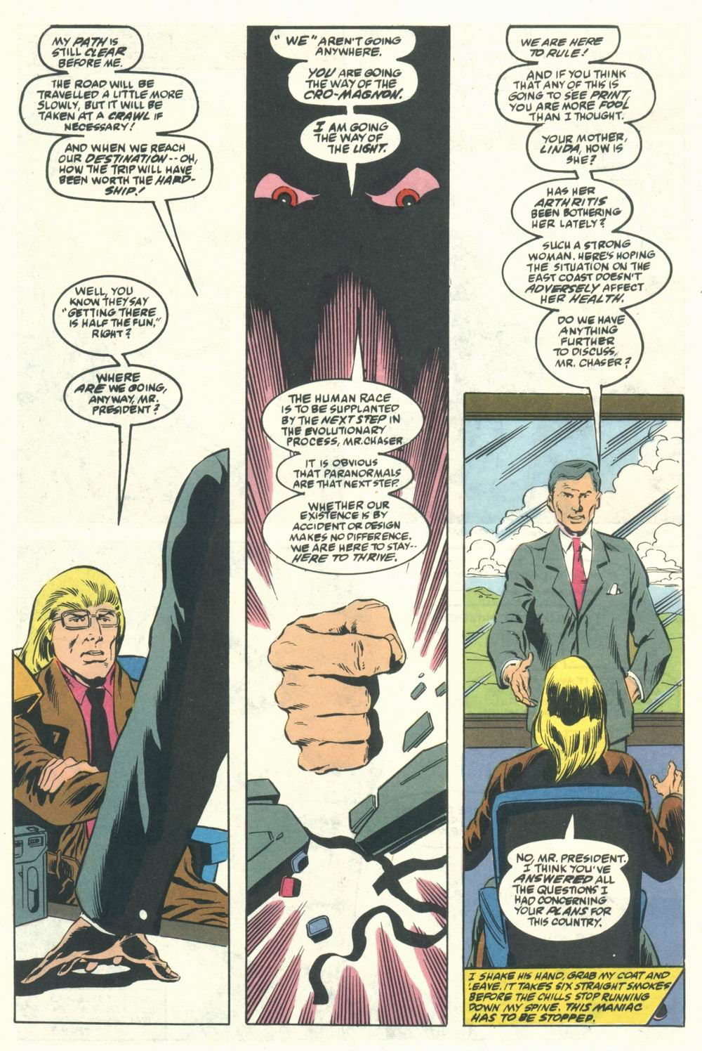 Read online Justice (1986) comic -  Issue #31 - 30