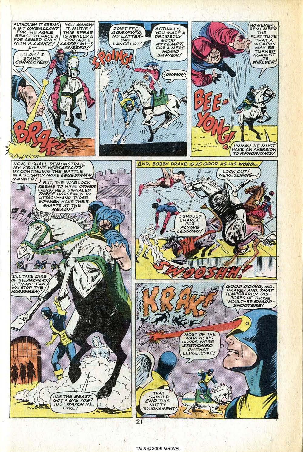 Read online Uncanny X-Men (1963) comic -  Issue #78 - 23