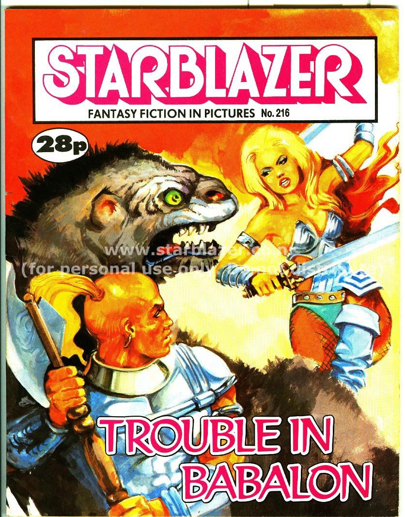 Starblazer issue 216 - Page 1