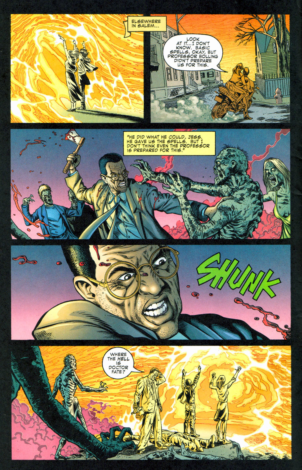 Read online Doctor Fate (2003) comic -  Issue #4 - 5