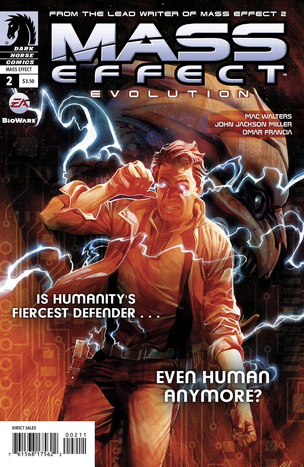 Mass effect evolution issue 2 page 1