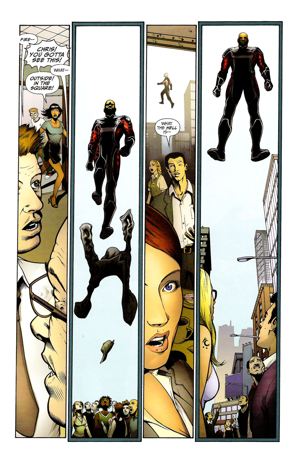 Read online ShadowHawk (2005) comic -  Issue #11 - 30