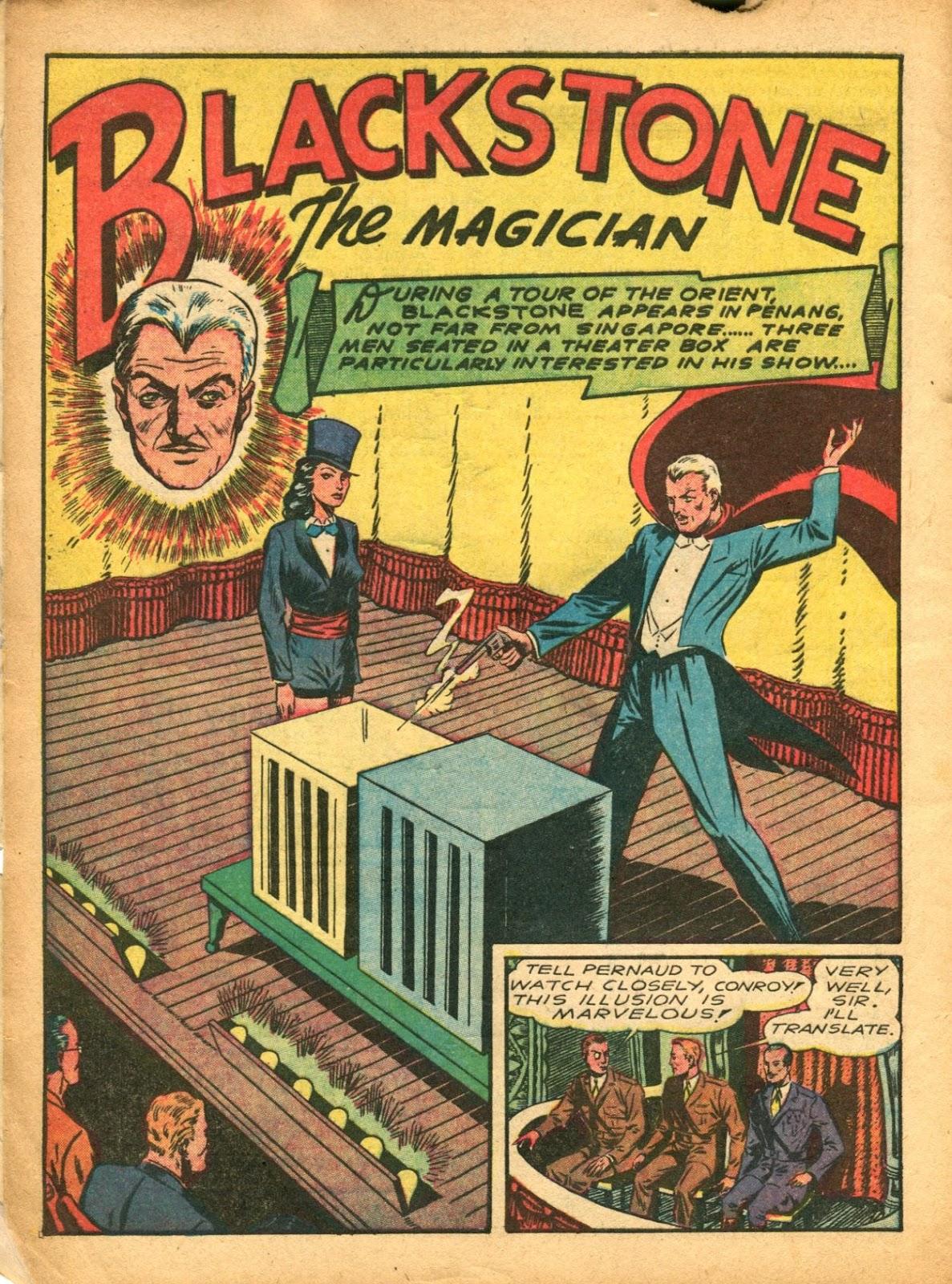 Read online Super-Magician Comics comic -  Issue #5 - 6